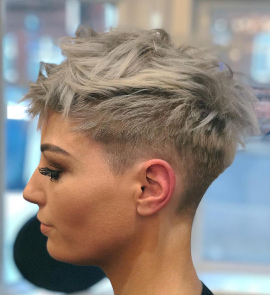 10 Stylish Pixie Haircuts In Ultra Modern Shapes, Women With Regard To Recent Shattered Choppy Bangs Pixie Haircuts (View 8 of 20)