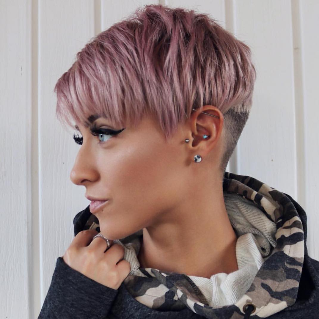10 Trendy Very Short Haircuts For Female, Cool Short Hair Throughout Well Liked Edgy & Chic Short Curls Pixie Haircuts (View 3 of 20)