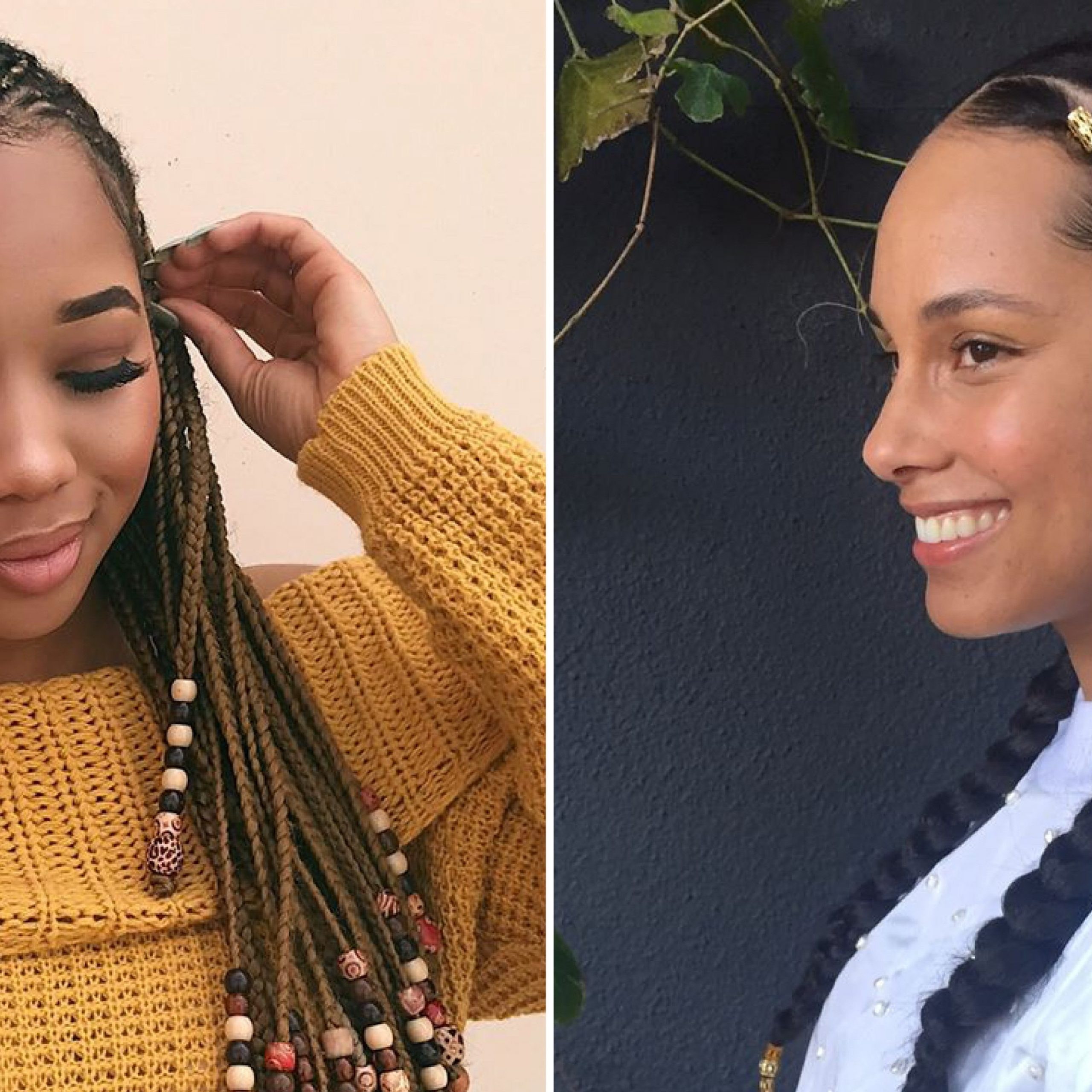 12 Gorgeous Braided Hairstyles With Beads From Instagram Throughout 2020 Beaded Plaits Braids Hairstyles (View 1 of 20)