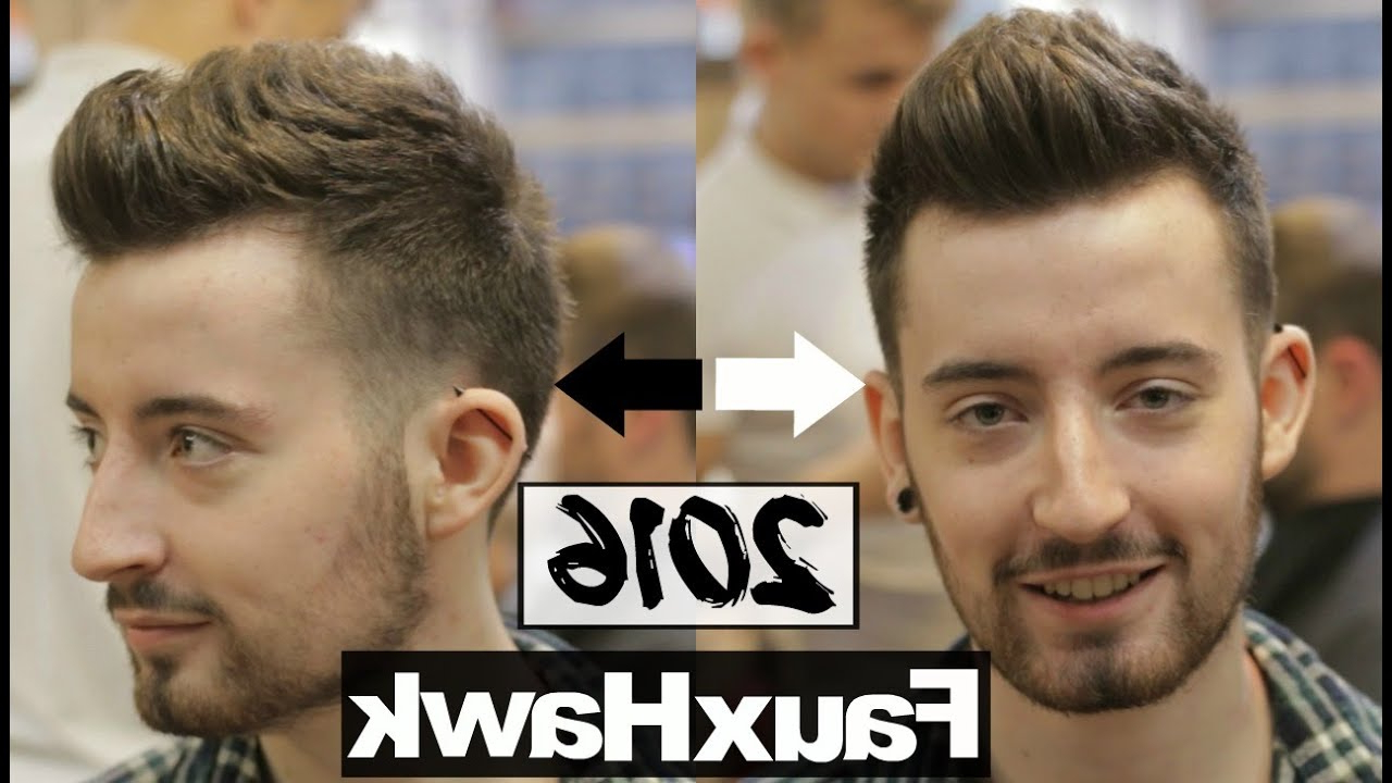 121 Coolest Faux Hawk Fade For Men (2020 Guide) – Hairstylecamp Inside Most Current Faux Hawk Fade Haircuts With Purple Highlights (Gallery 18 of 20)