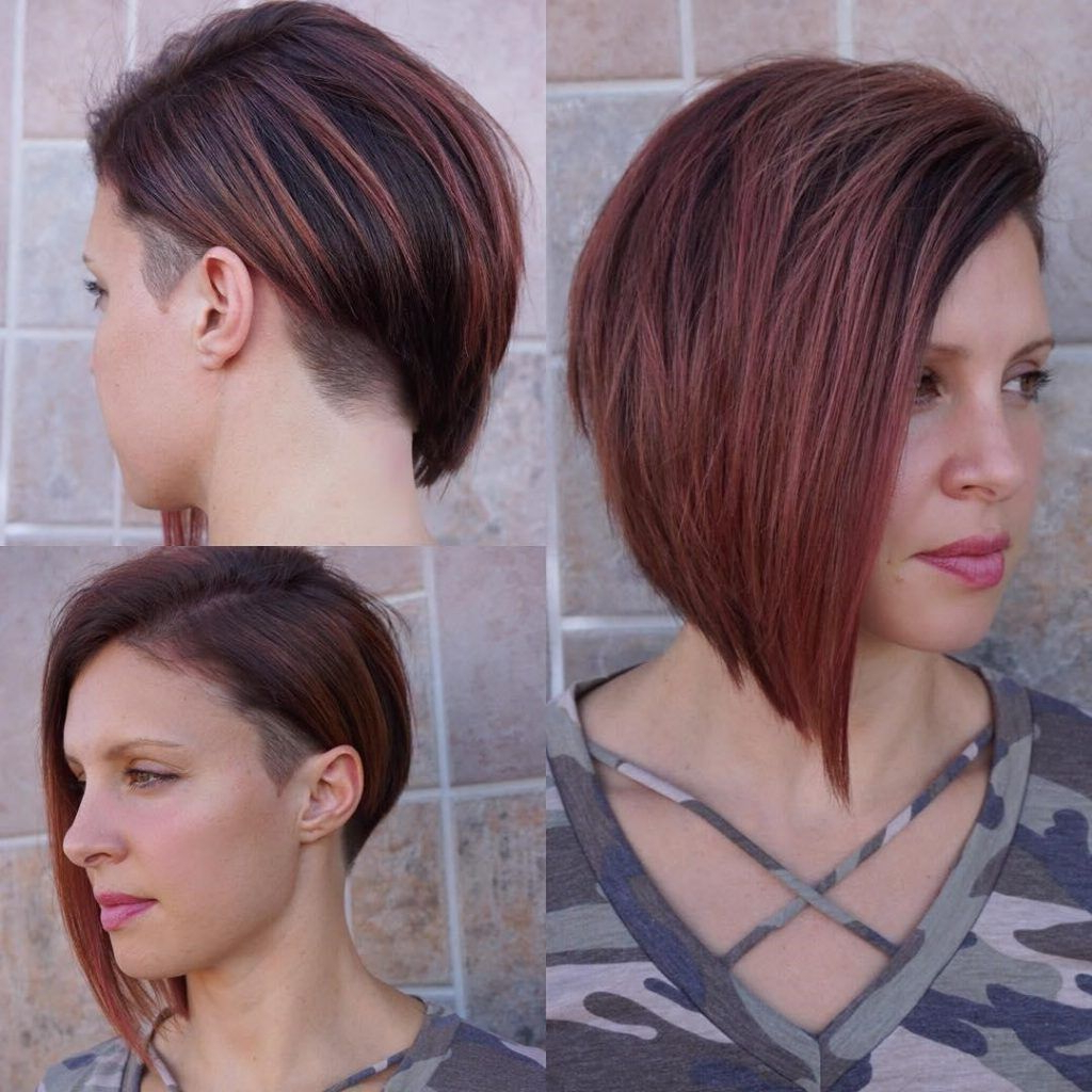 14 Exciting Asymmetrical Bob Haircuts Every Woman Wants To Intended For Favorite Asymmetrical Bob Hairstyles (View 15 of 20)