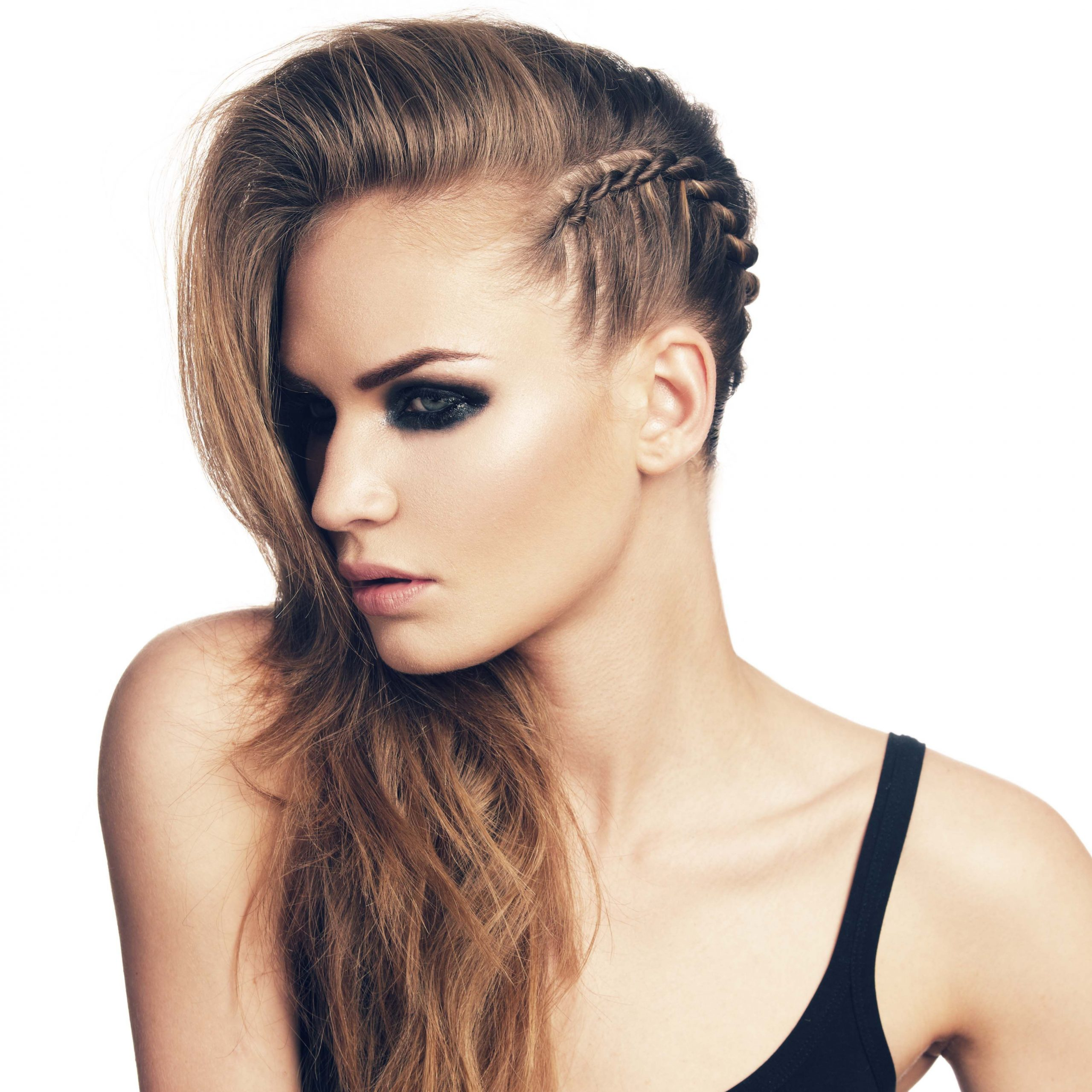 Featured Photo of Faux Undercut Braid Hairstyles