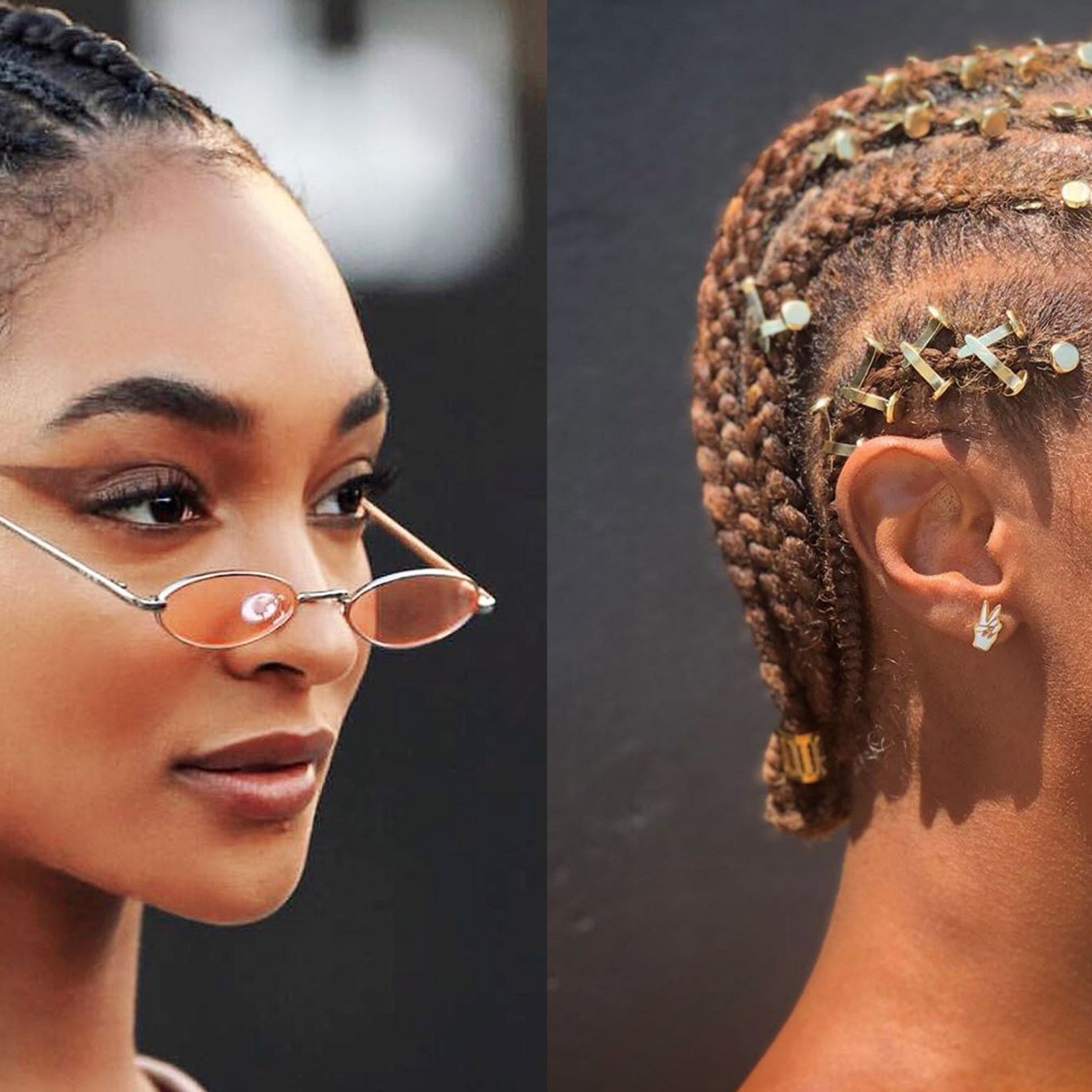 19 Stunning Cornrow Hairstyles To Try In 2019 Intended For Most Popular Accessorized Straight Backs Braids (View 17 of 20)