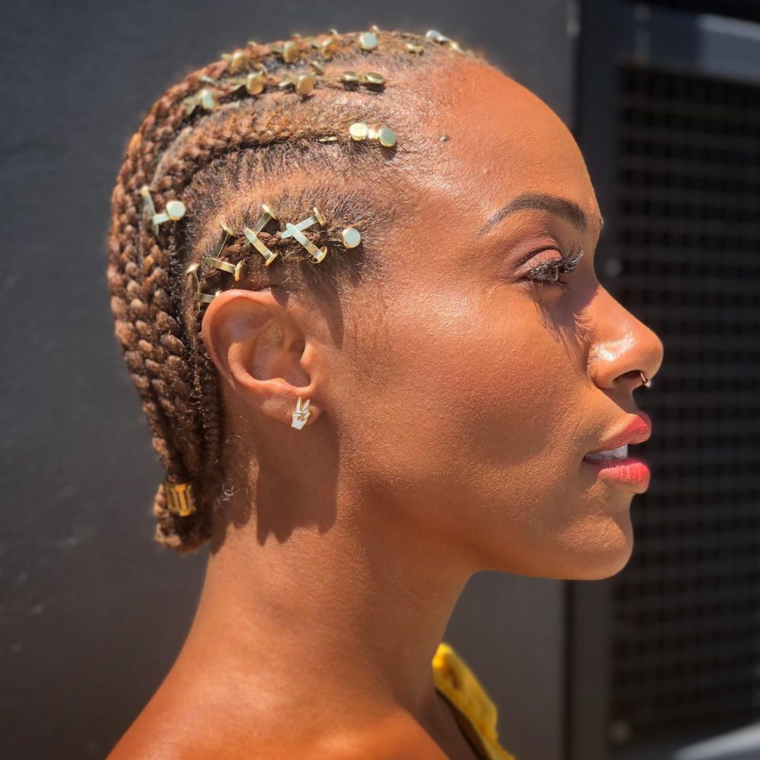 20 Accessories For Box Braids That Aren't Those Little Gold Pertaining To Most Current Beaded Plaits Braids Hairstyles (View 3 of 20)