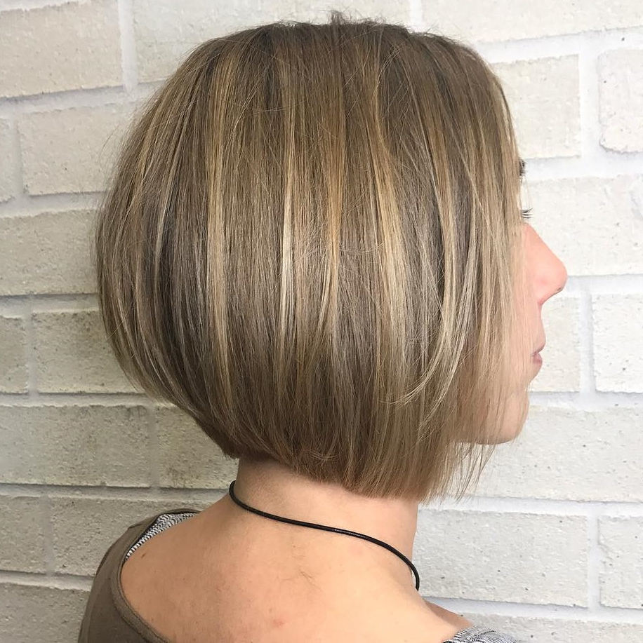 20 Bob Haircuts For Fine Hair To Try In 2020 With Favorite Concave Bob Hairstyles (View 13 of 20)