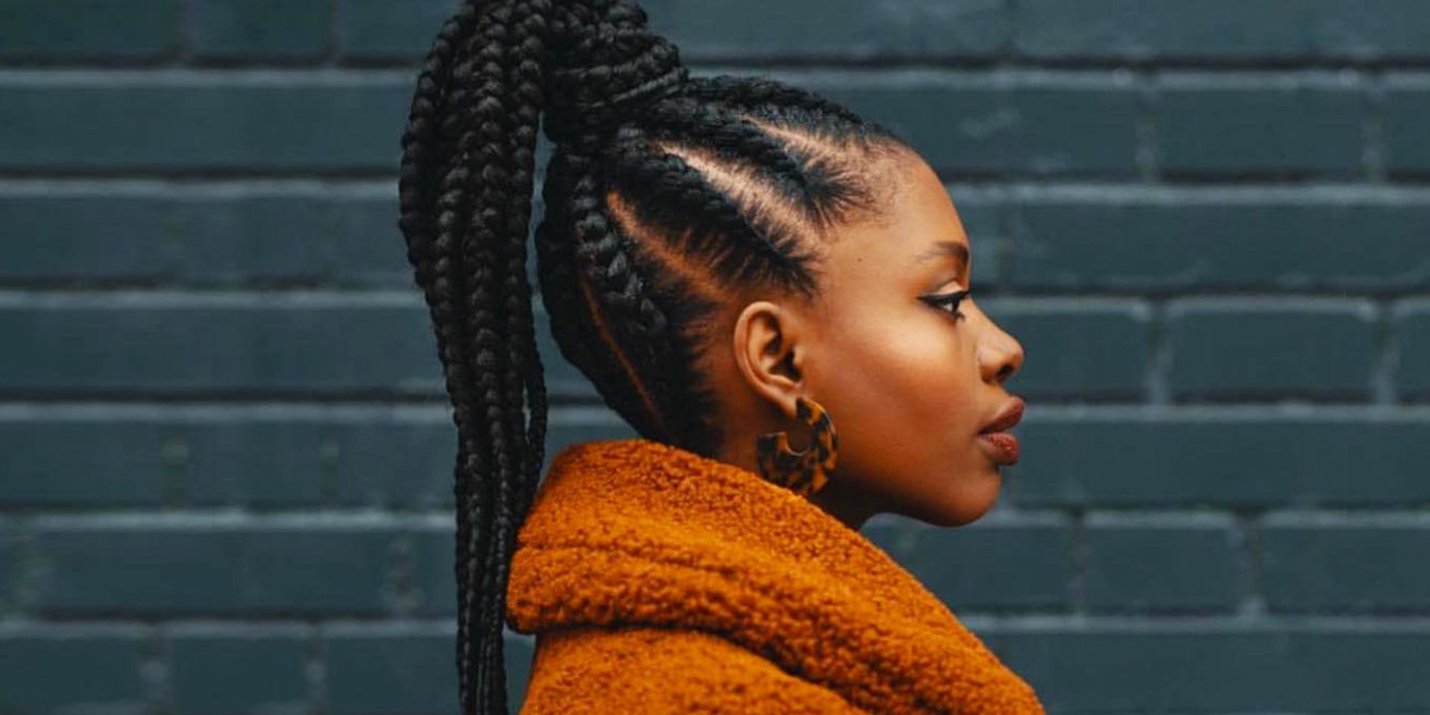 20 Goddess Braids Hair Ideas For 2020 – Easy Protective Throughout Most Popular Curved Goddess Braids Hairstyles (View 1 of 20)