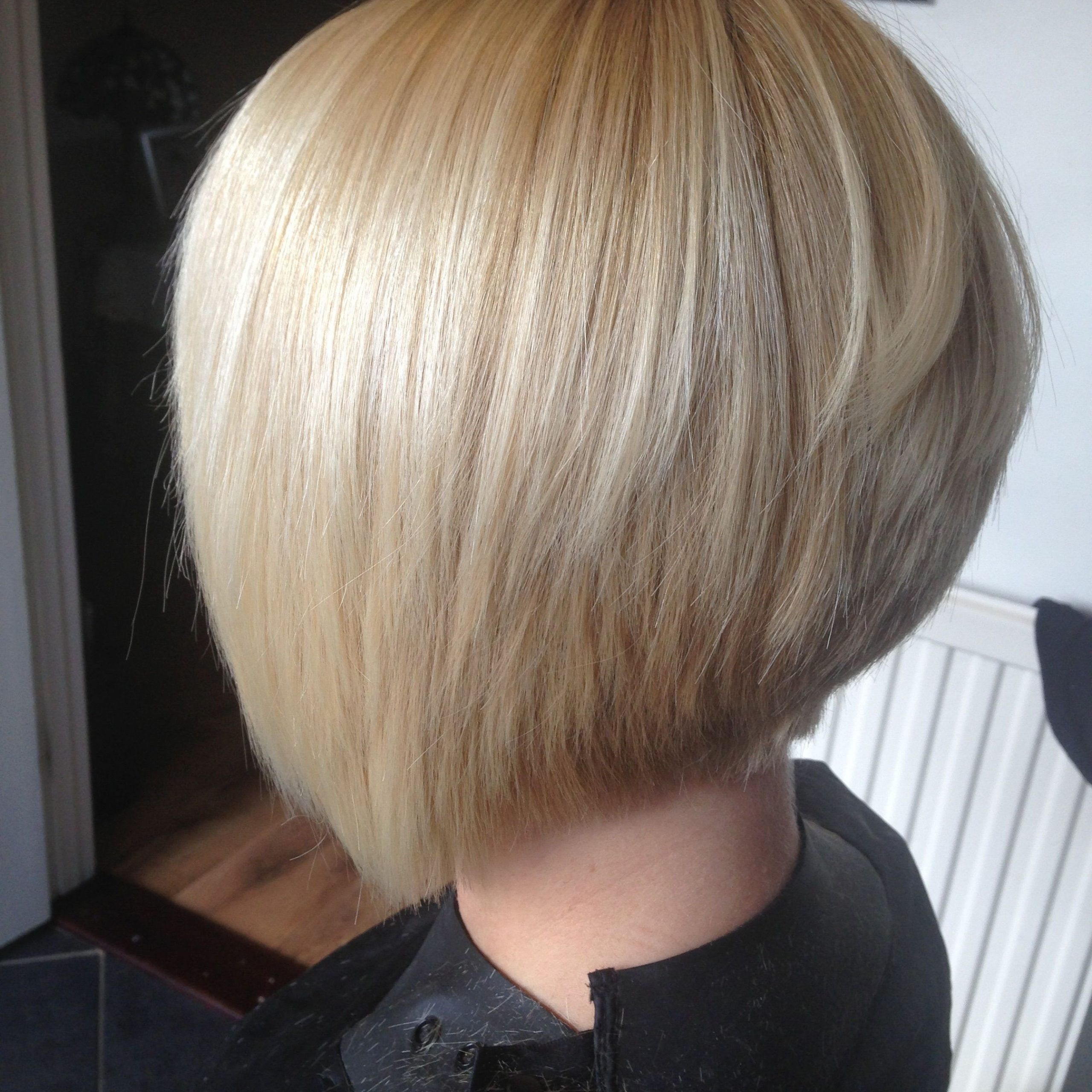 2017 Blonde Undercut Bob Hairstyles Intended For Pin On Hairs (View 2 of 20)