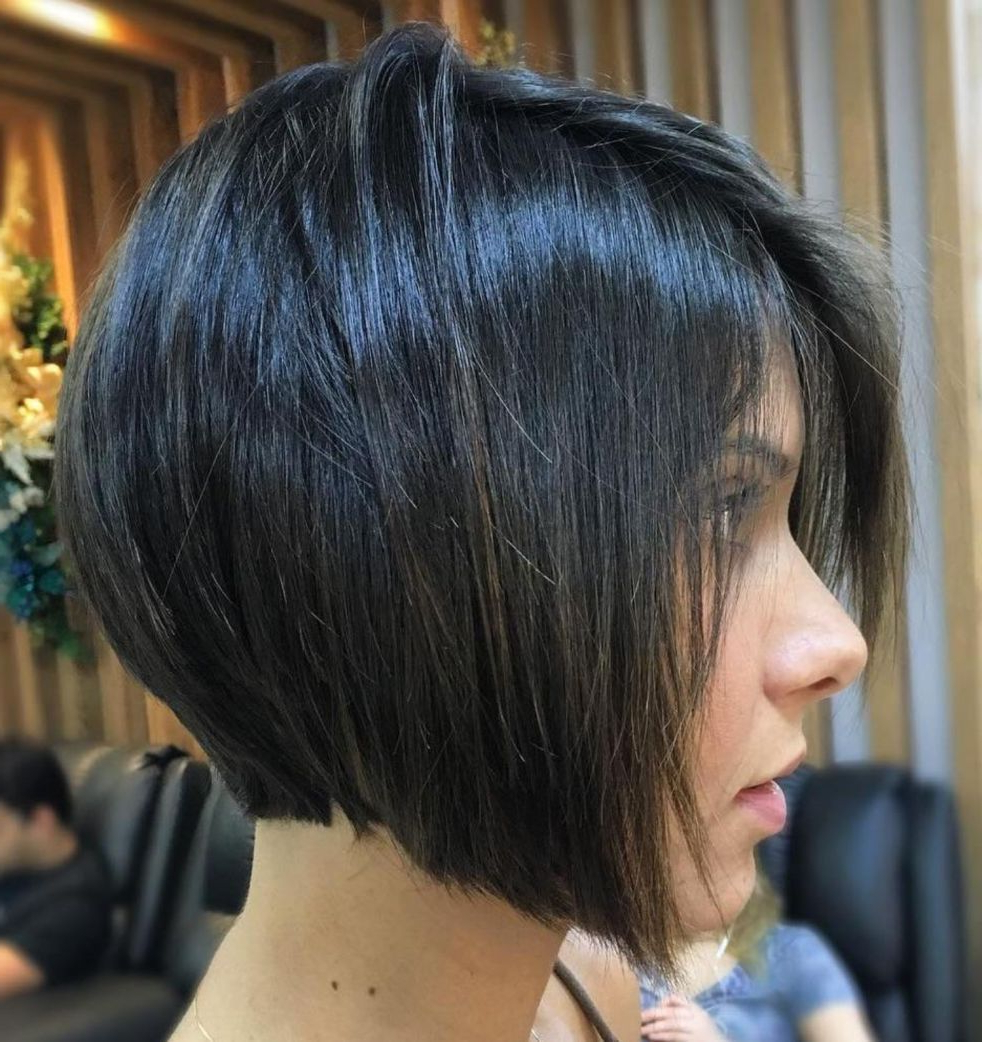 2017 Super Short Inverted Bob Hairstyles Intended For 50 Trendy Inverted Bob Haircuts In  (View 1 of 20)