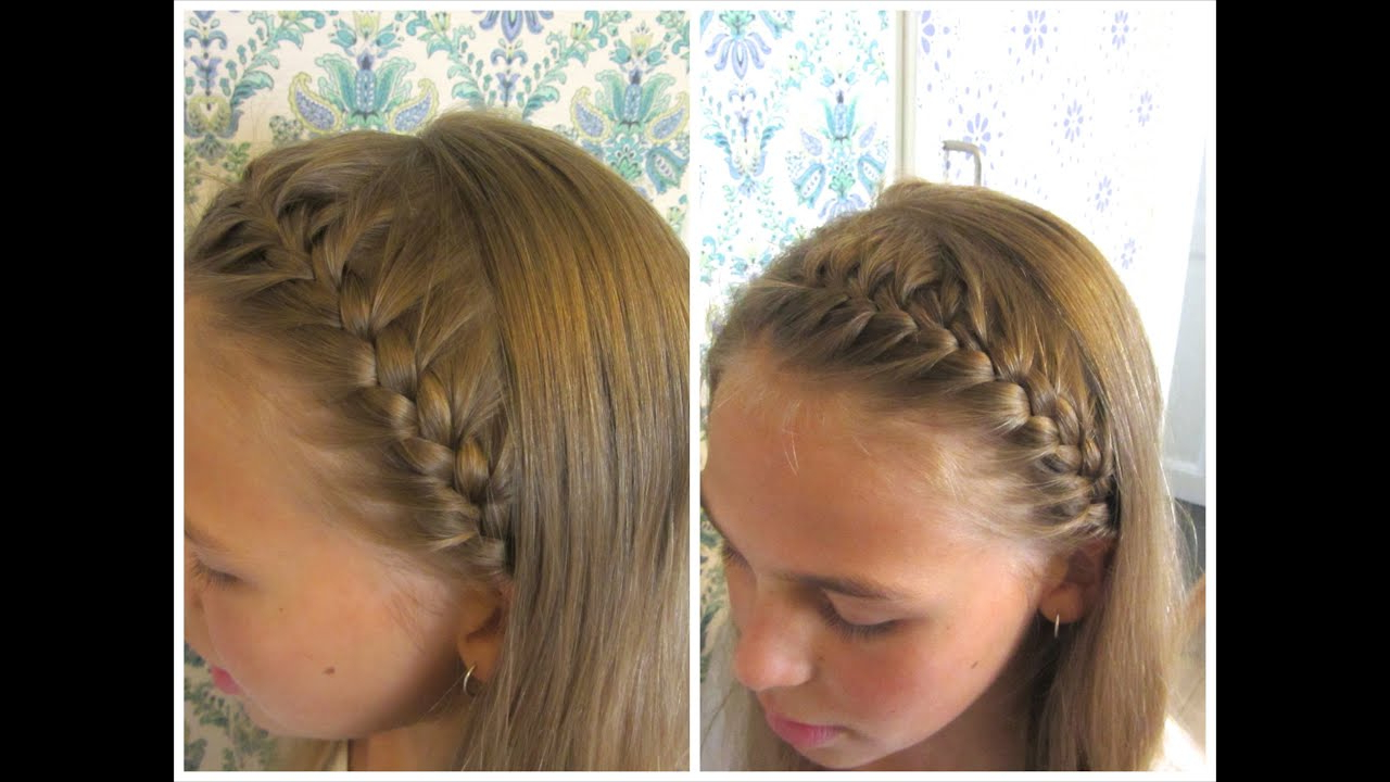 2019 Full Headband Braid Hairstyles Within Diy French Braided Headband – Hairandnailsinspiration (View 1 of 20)