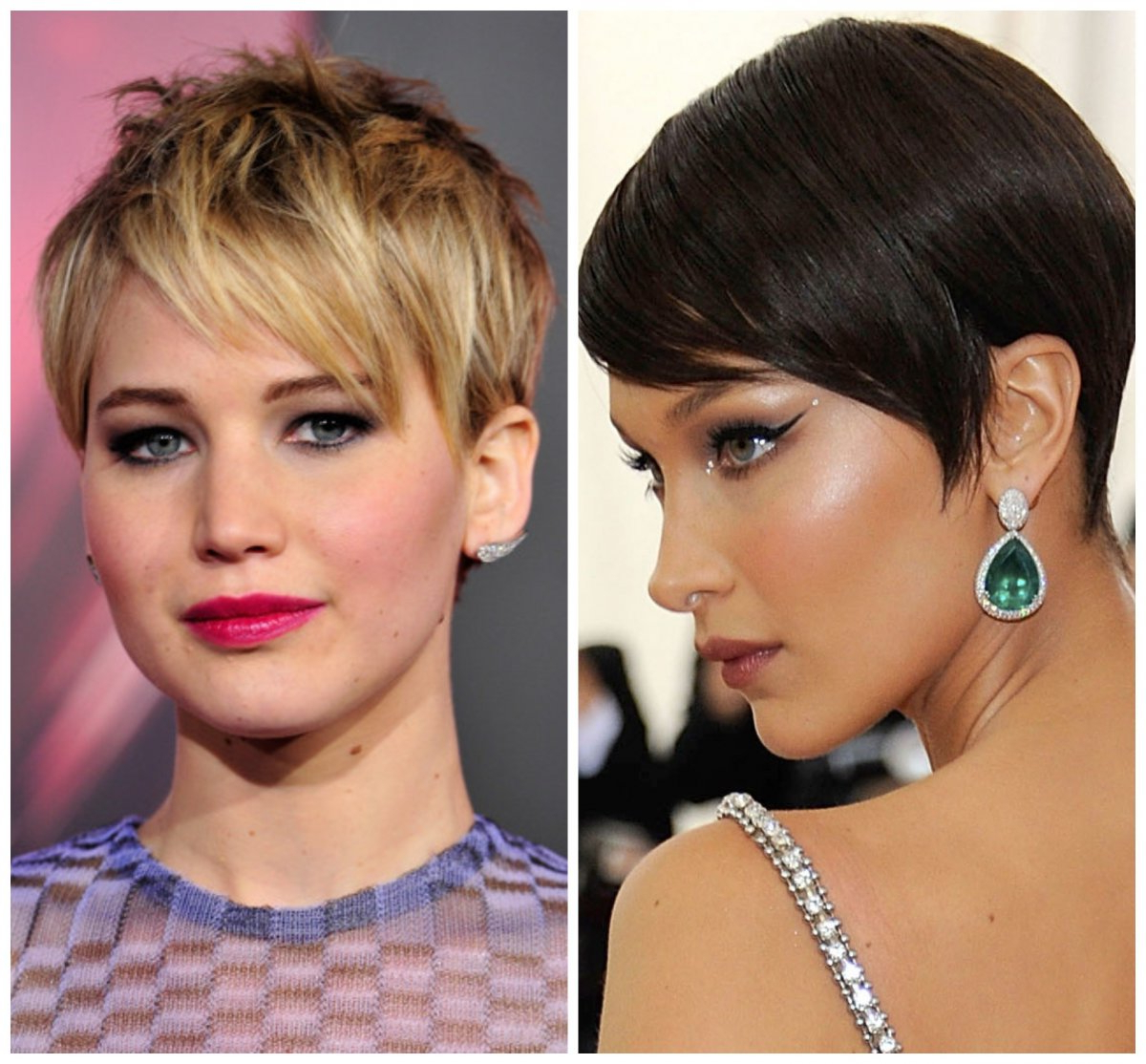 23 Amazing Pixie Haircuts Celebs Wore If You Are Looking For Within Trendy Short Side Swept Pixie Haircuts With Caramel Highlights (View 15 of 20)