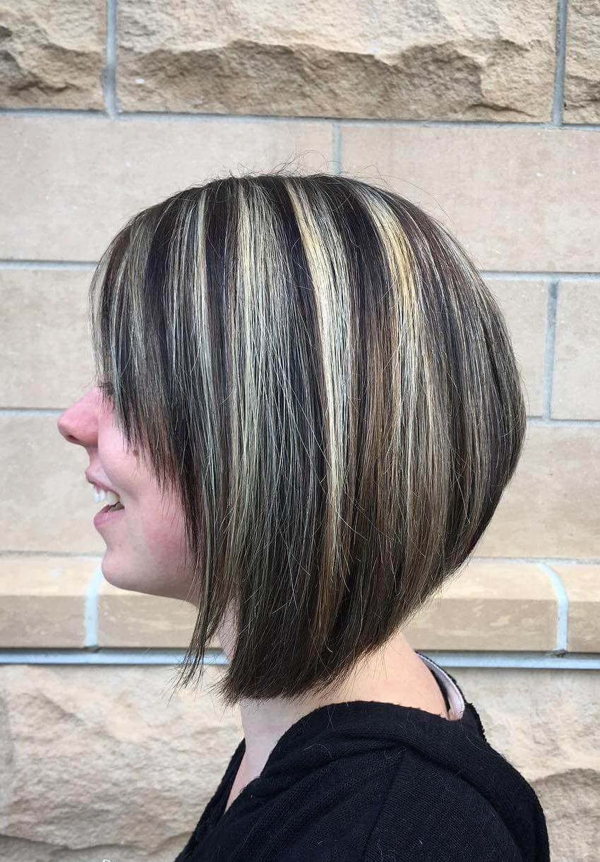 25+ Inspirational A Line Bob Haircuts And Hairstyles For Preferred Sassy A Line Bob Hairstyles (View 13 of 20)