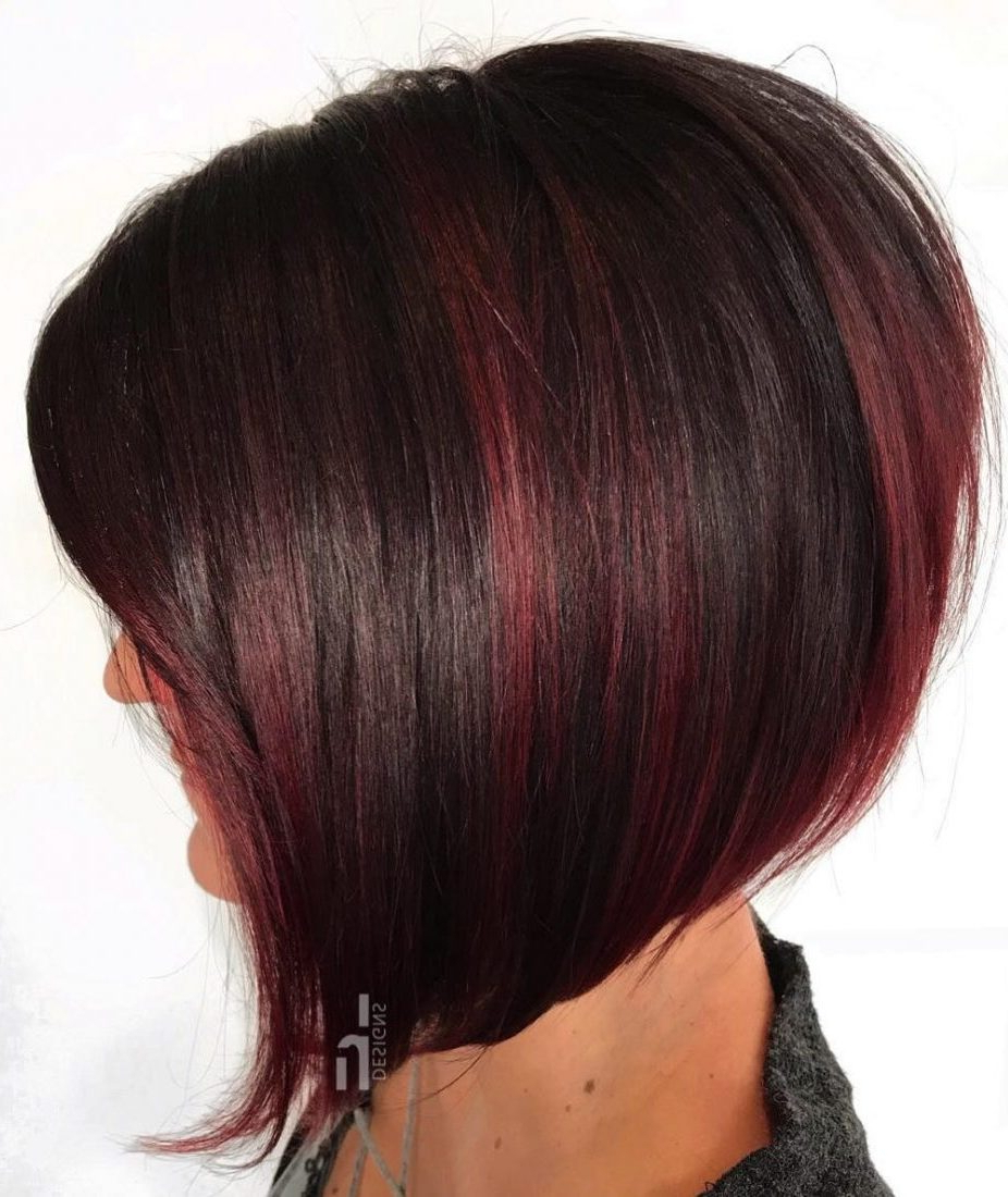 30 Attrative Short Straight Hairstyles And Haircuts In 2019 Intended For 2018 Pageboy Maroon Red Pixie Haircuts (View 13 of 20)