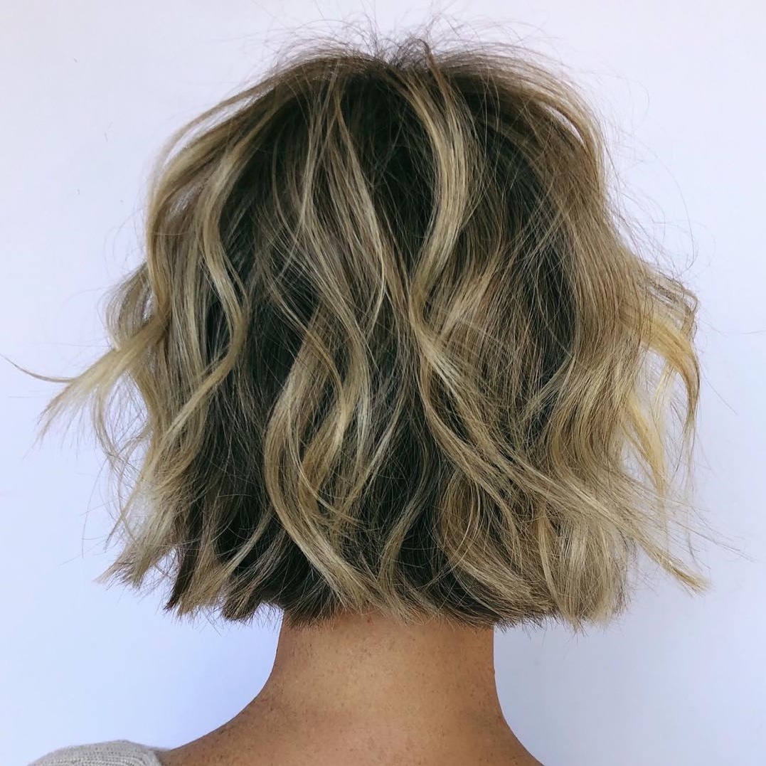 35 Cute Short Bob Haircuts Everyone Will Be Obsessed With In Throughout Trendy Shiny Strands Blunt Bob Hairstyles (View 16 of 20)