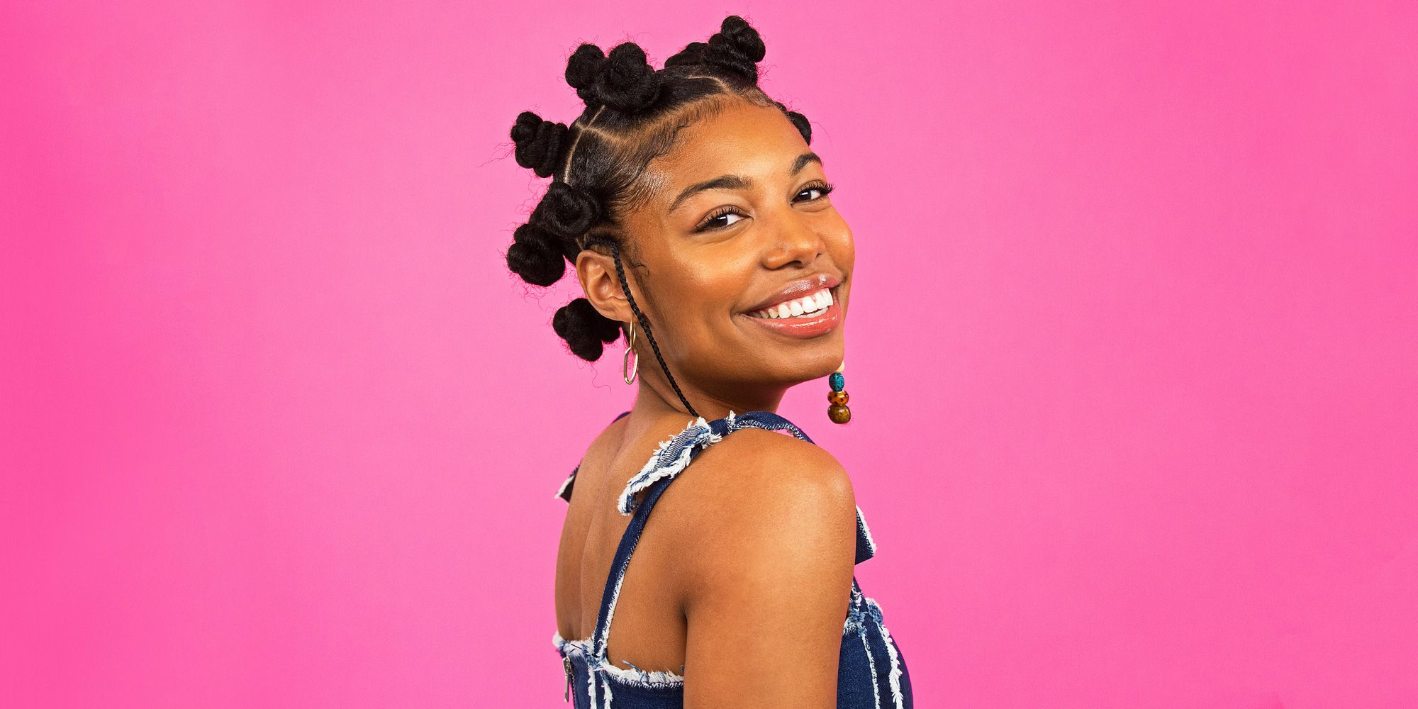 4 Natural Hair Braid Styles – Bantu Knots, Box Braids, And Within 2019 Hoop Embellished Braids Hairstyles (View 13 of 20)