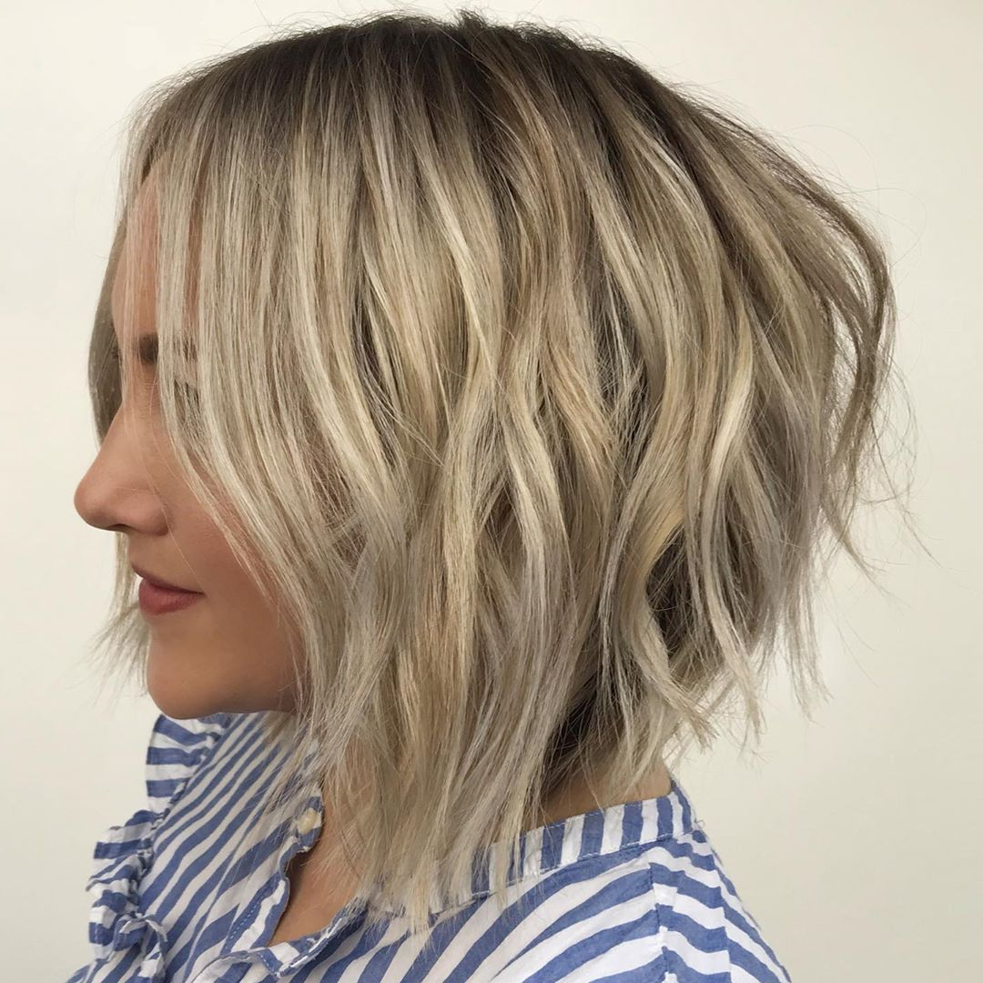 40 Awesome Ideas For Layered Bob Hairstyles You Can't Miss In Most Current Sassy A Line Bob Hairstyles (View 18 of 20)