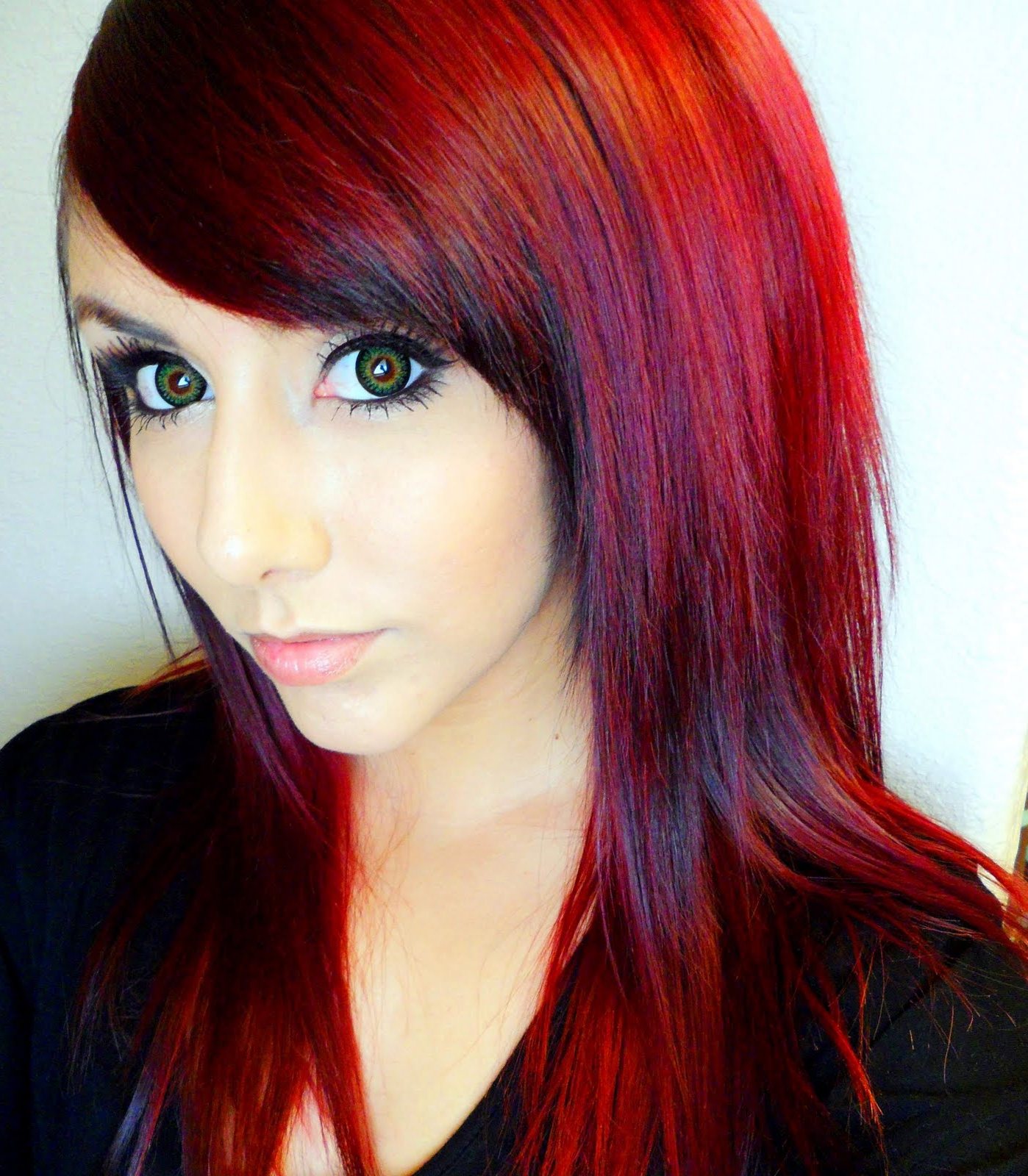 40 Bold & Beautiful Bright Red Hair Color Shades For Newest Bright Red Bob Hairstyles (View 17 of 20)