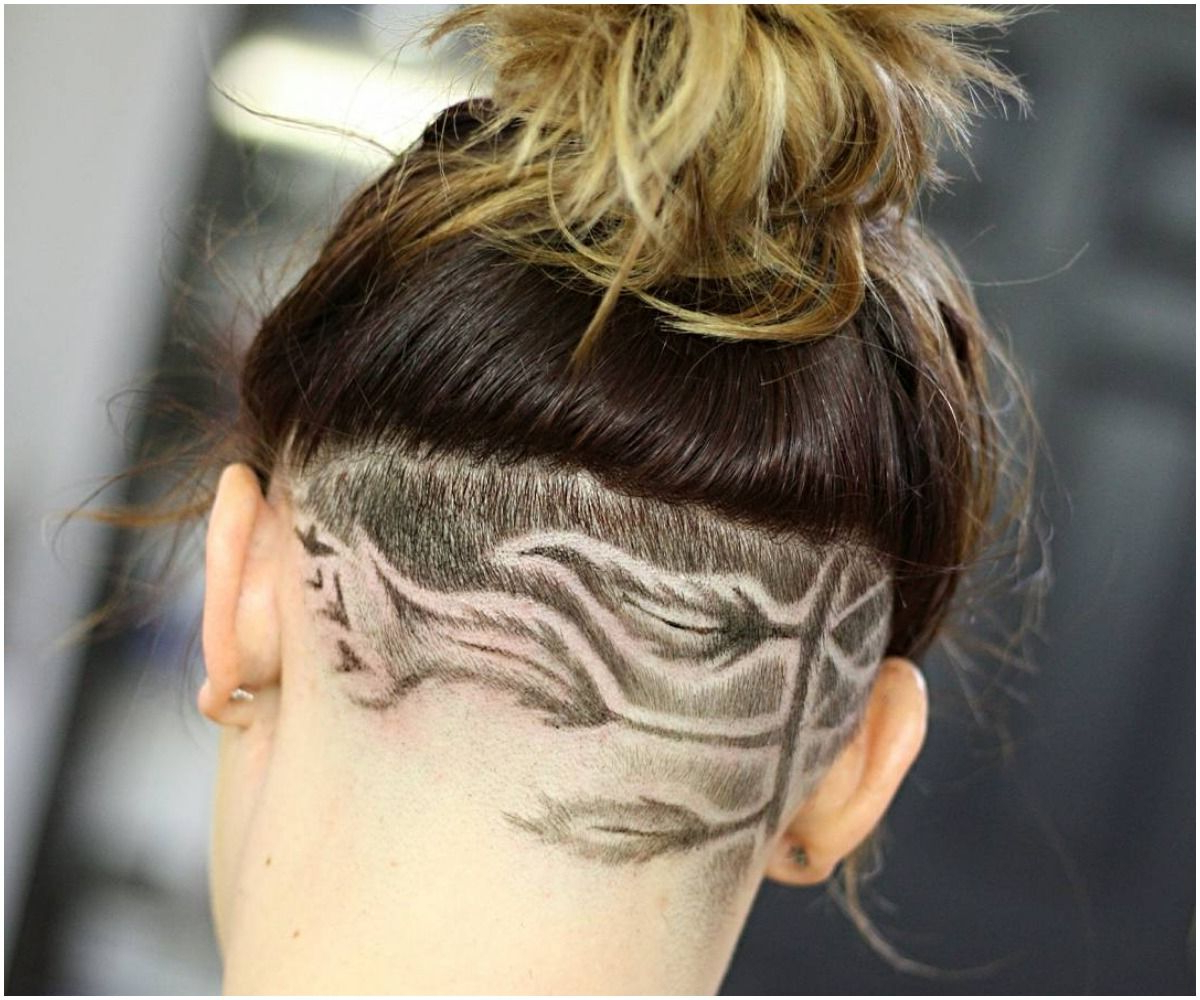 42 Most Elegant Designed Undercuts Hairstyles For Female In Well Known Shaved Undercuts (View 2 of 20)