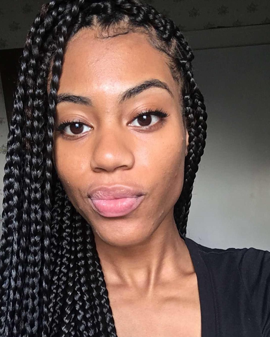 45 Stunning Medium Box Braids — Experiment With One Of With Regard To Well Known Medium Sized Braids Hairstyles (View 5 of 20)