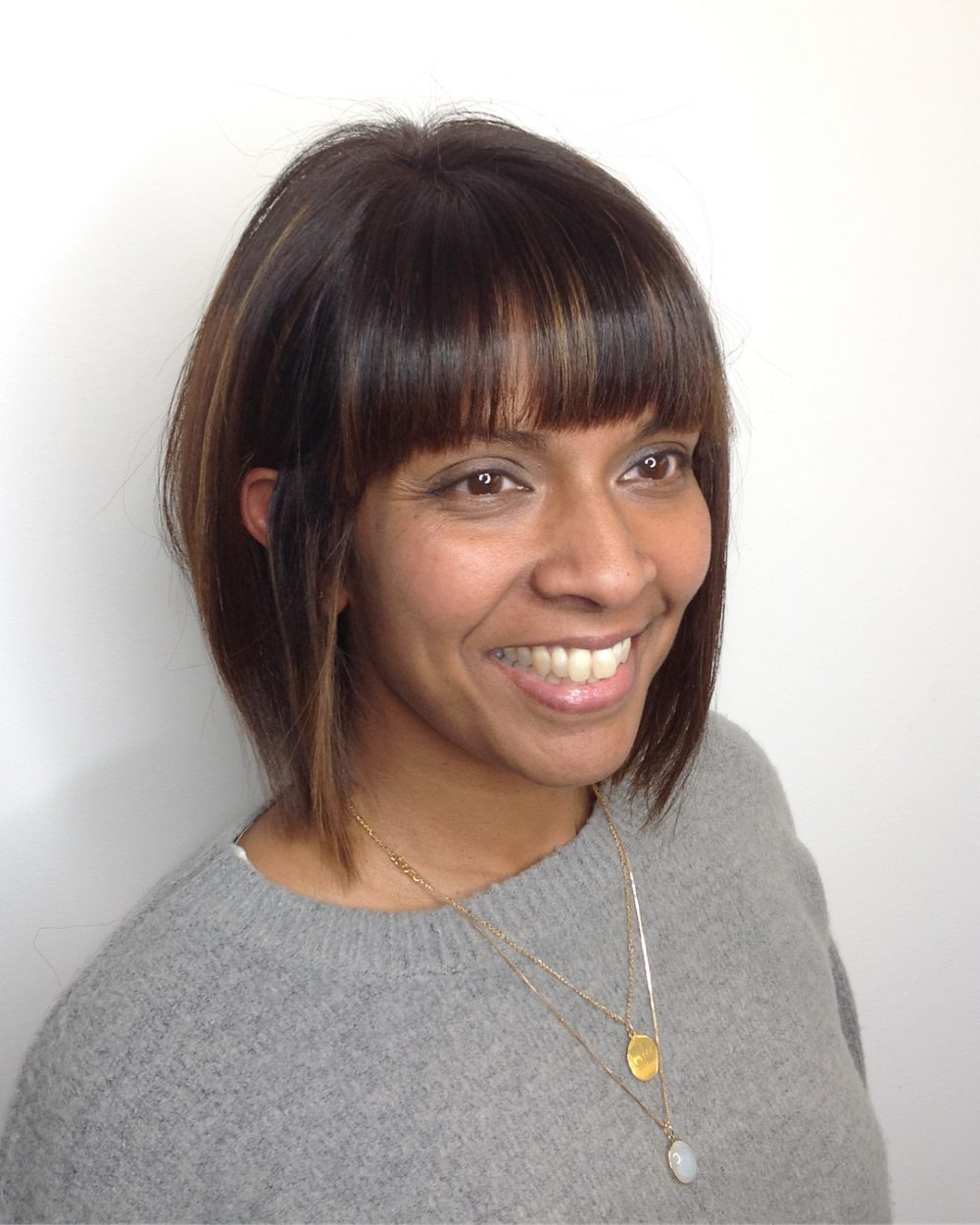 46 Bob With Bangs Hairstyle Ideas Trending For 2020 Regarding Current Bob Hairstyles With Bangs (View 18 of 20)