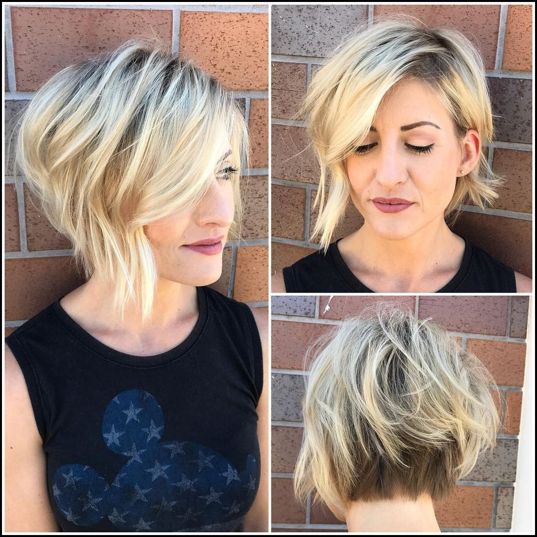 50 Adorable Asymmetrical Bob Hairstyles 2018 – Hottest Bob In Most Popular Asymmetrical Bob Hairstyles (View 5 of 20)