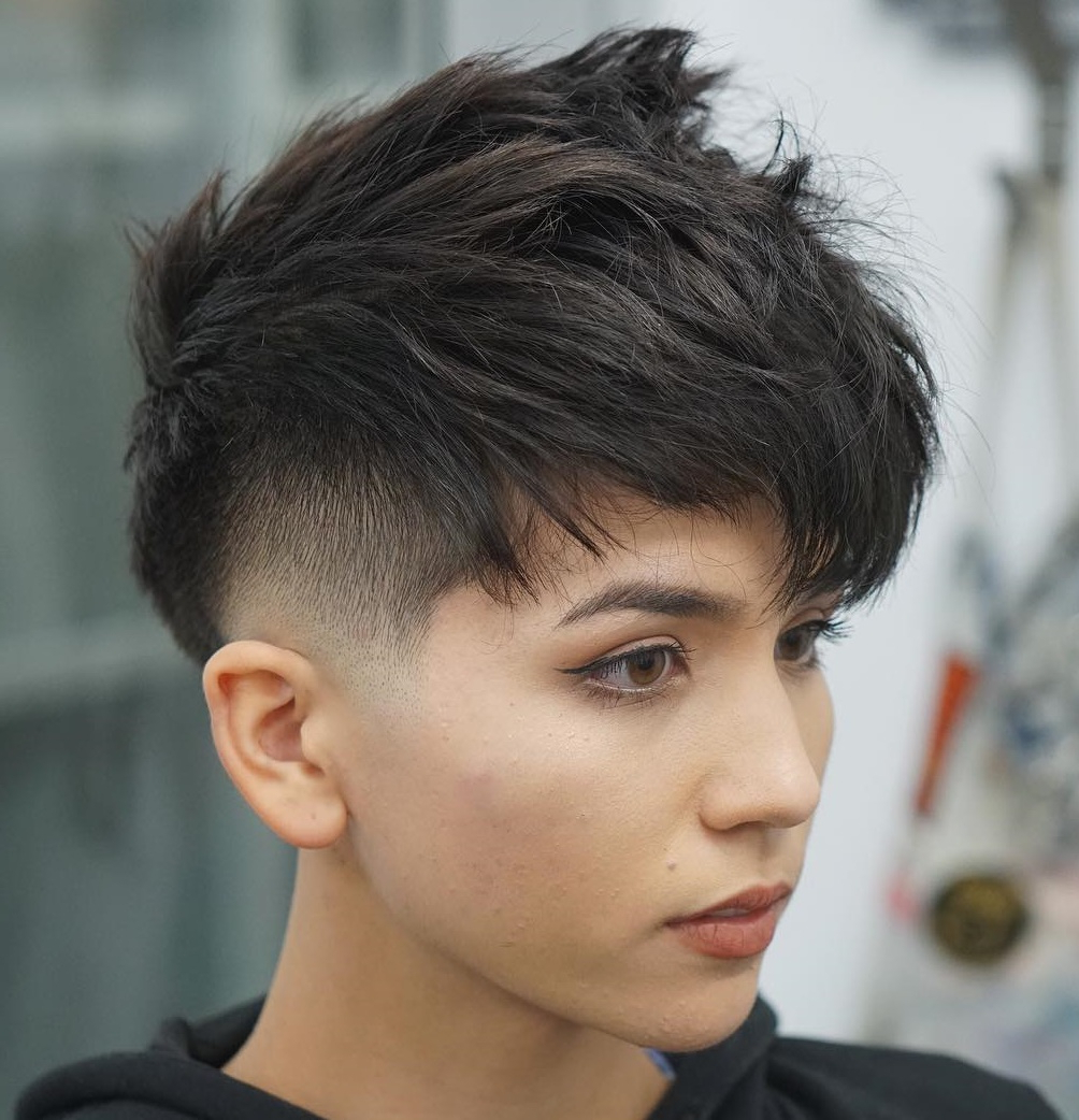 50 Hottest Pixie Cut Hairstyles In 2020 Within Most Recent Metallic Short And Choppy Pixie Haircuts (View 12 of 20)