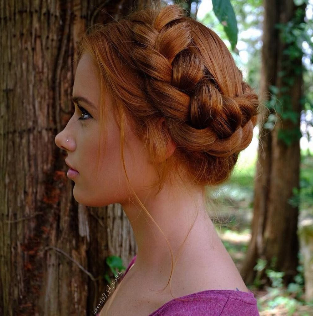 60 Breezy Crown Braid Hairstyles For Summer (Gallery 6 of 20)