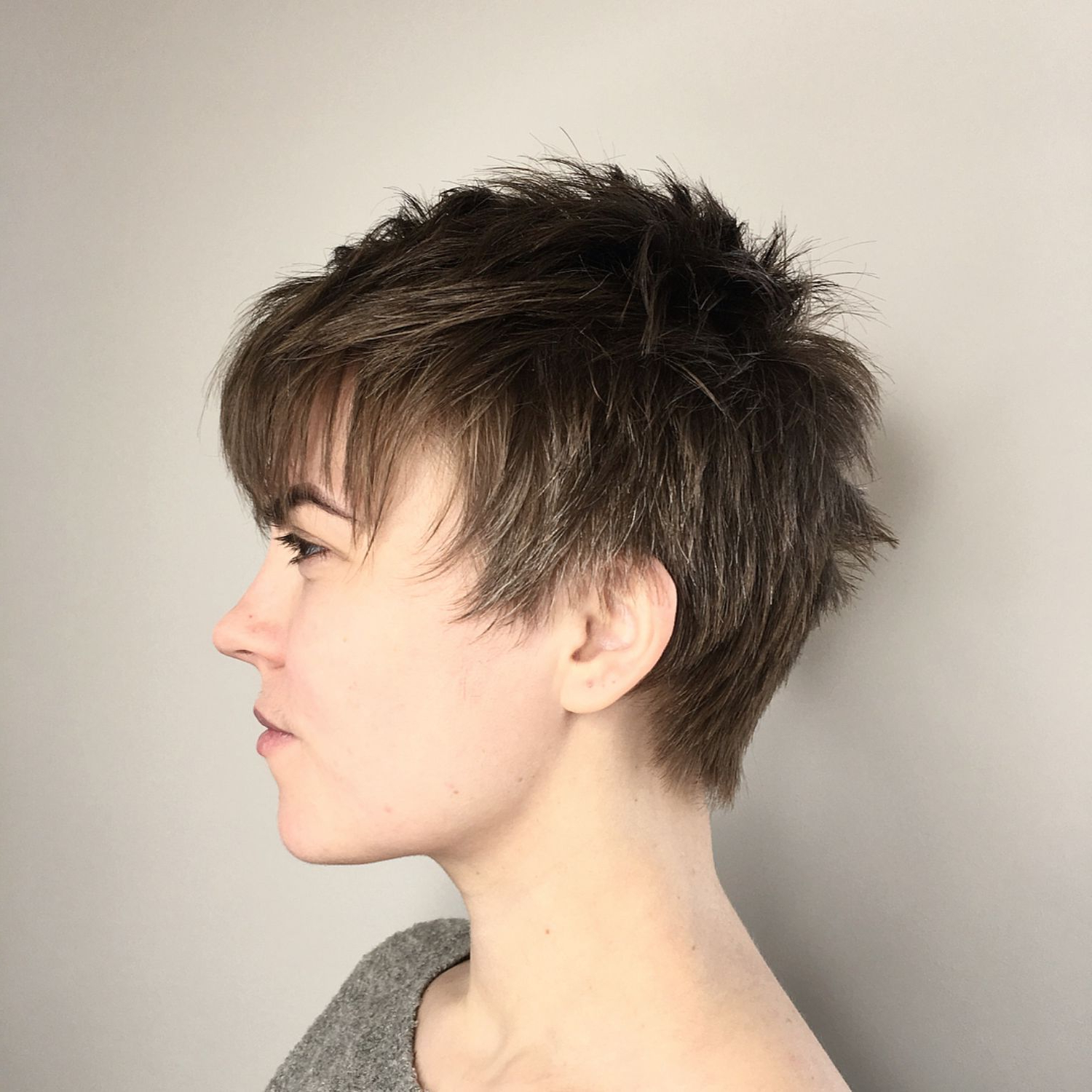 60 Cute Short Pixie Haircuts – Femininity And Practicality Within Widely Used Choppy Pixie Haircuts With Short Bangs (Gallery 8 of 20)