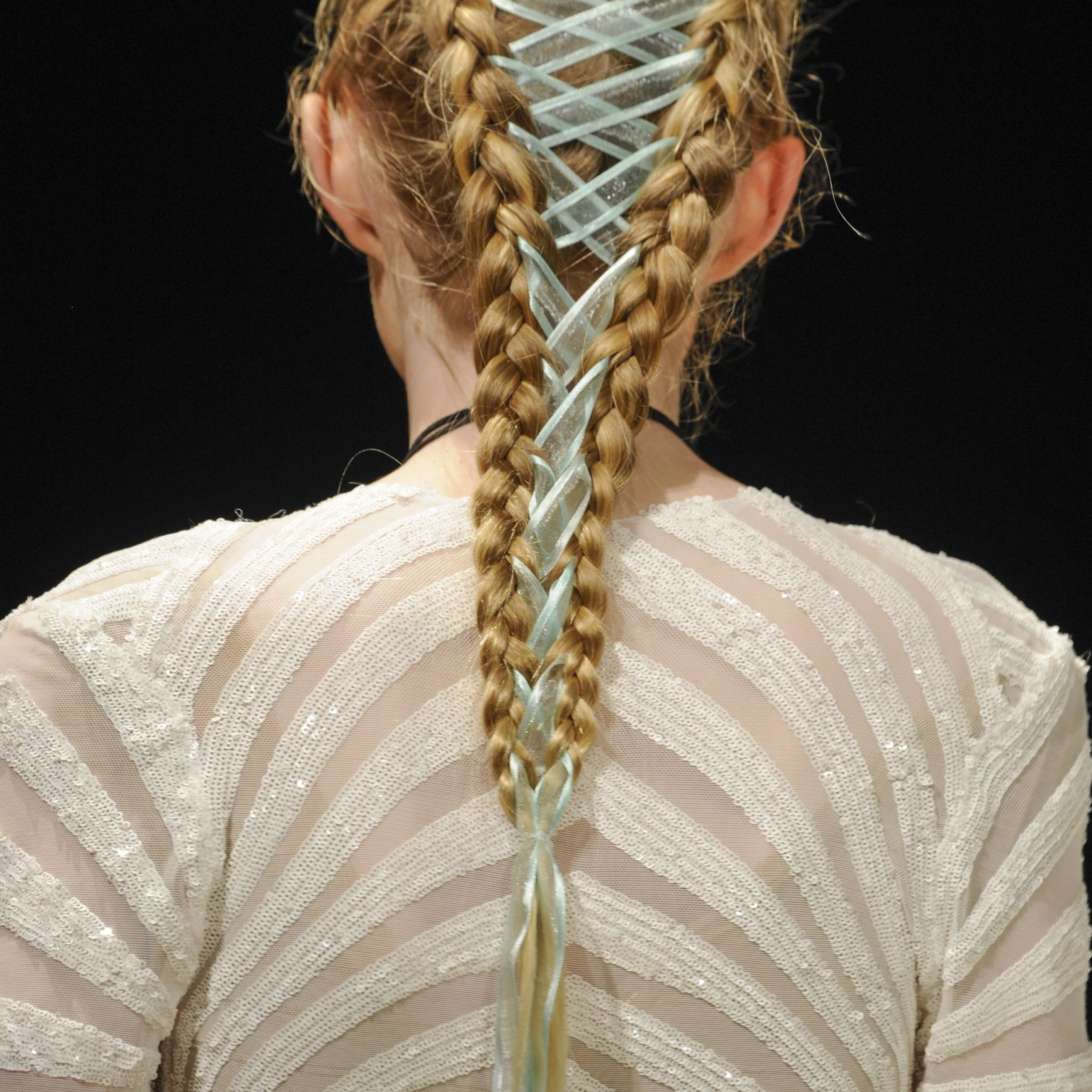 60 Easy Braided Hairstyles – Cool Braid How To's & Ideas Pertaining To Widely Used Loosely Tied Braid Hairstyles With A Ribbon (Gallery 11 of 20)