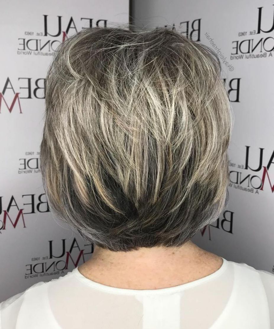 60 Gorgeous Gray Hair Styles (View 3 of 20)