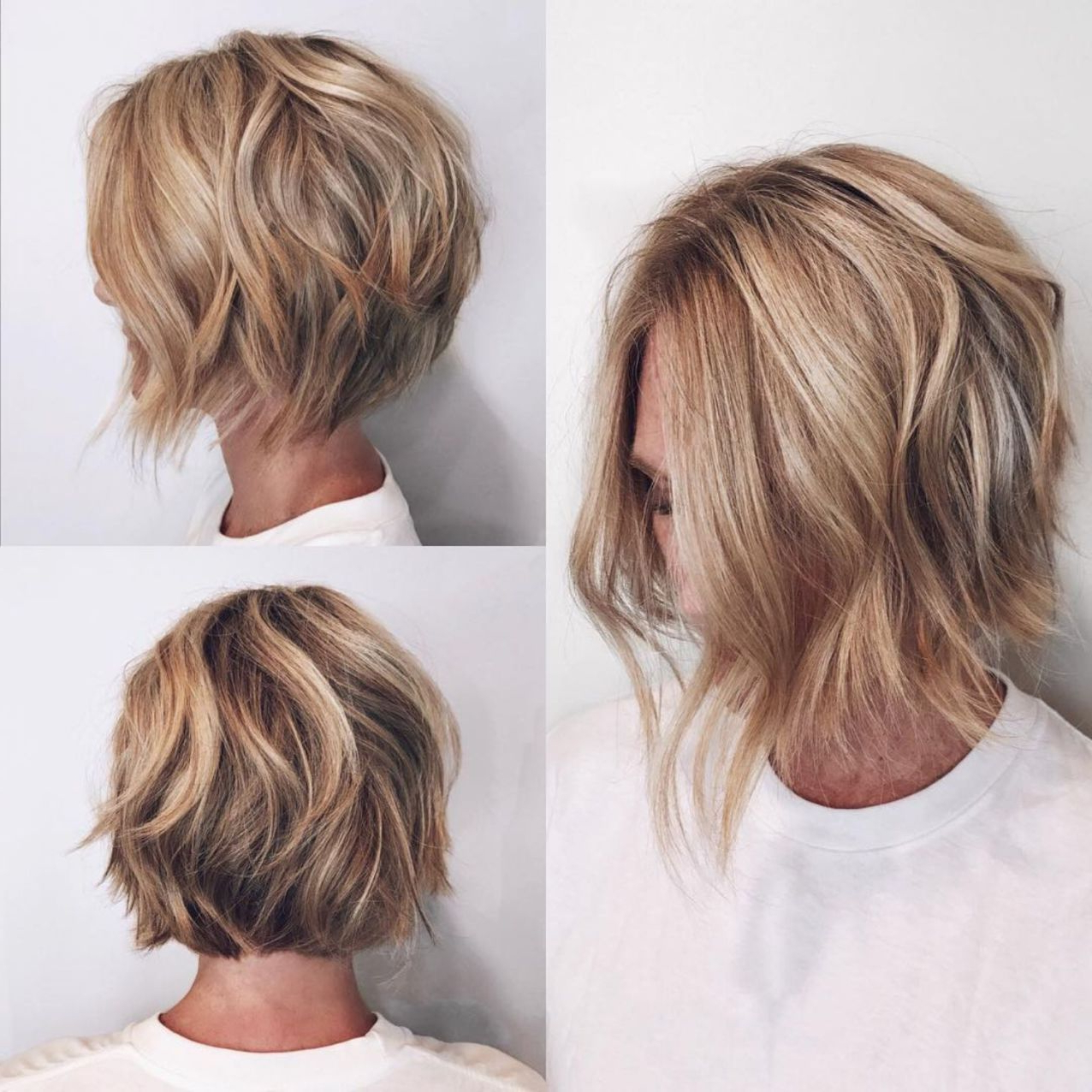 60 Layered Bob Styles: Modern Haircuts With Layers For Any Within Trendy Classic Disconnected Bob Haircuts (View 5 of 20)