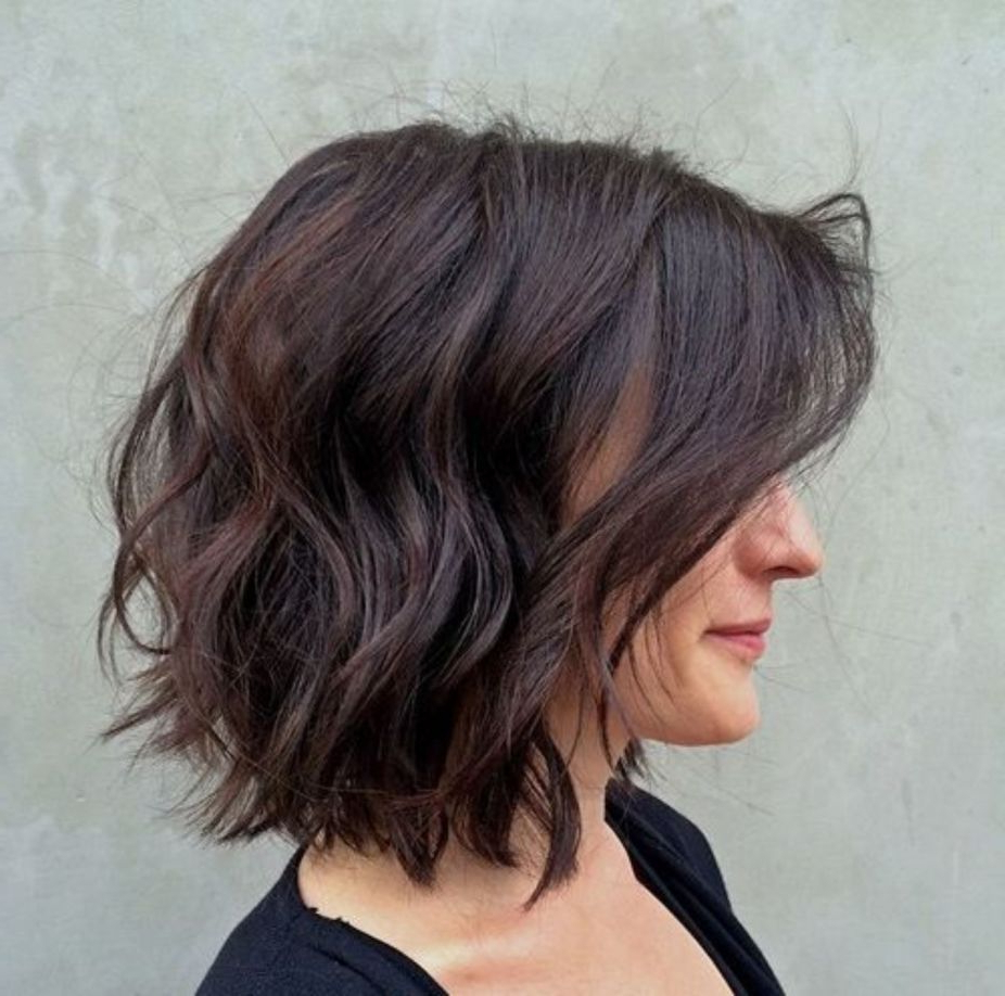 60 Messy Bob Hairstyles For Your Trendy Casual Looks In 2019 Regarding 2017 Trendy Messy Bob Hairstyles (Gallery 5 of 20)