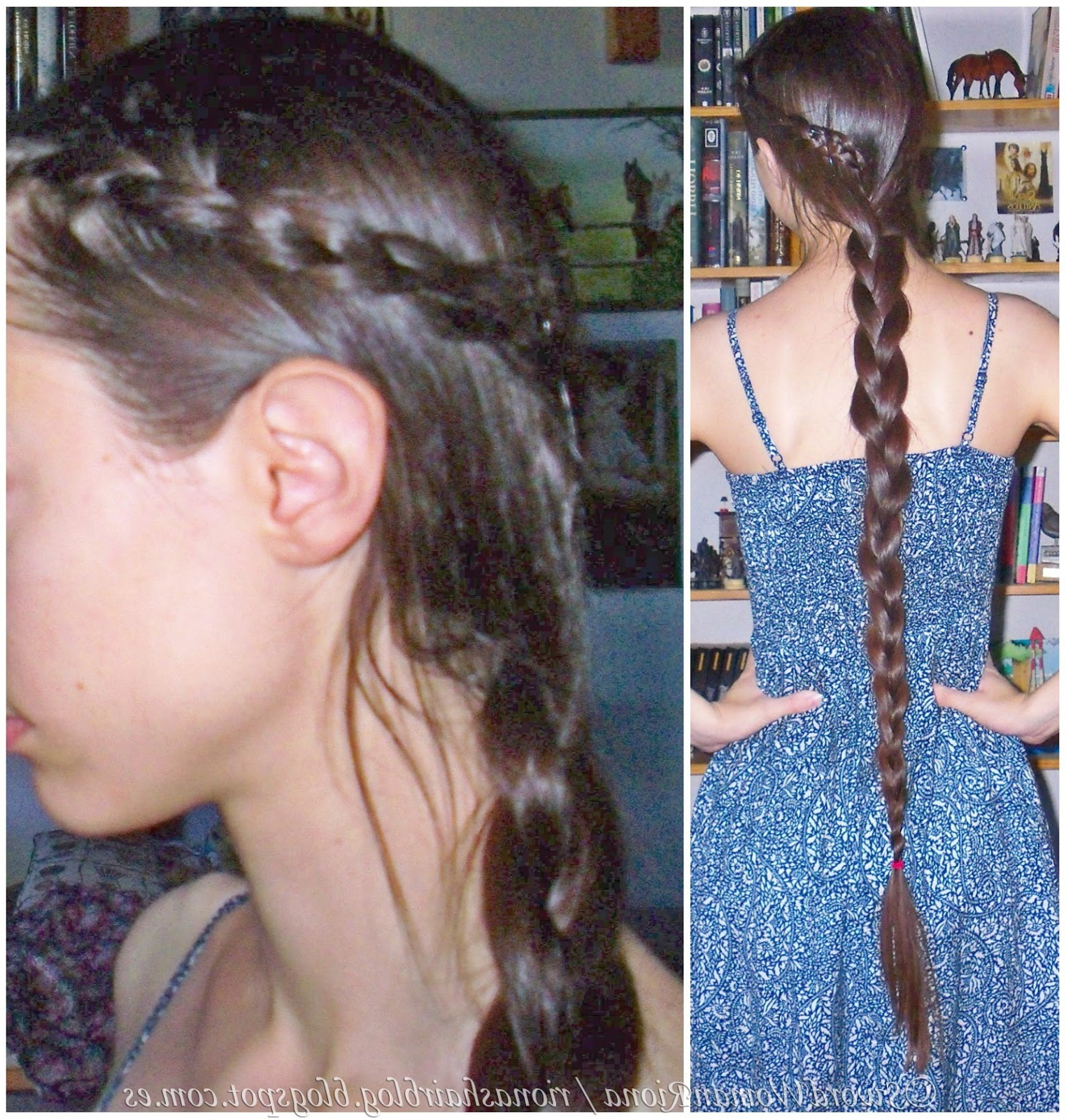 A Sword Woman's Natural Hair Blog: Hairstyles – Multibraids With Regard To Newest Three Strand Side Braid Hairstyles (View 11 of 20)