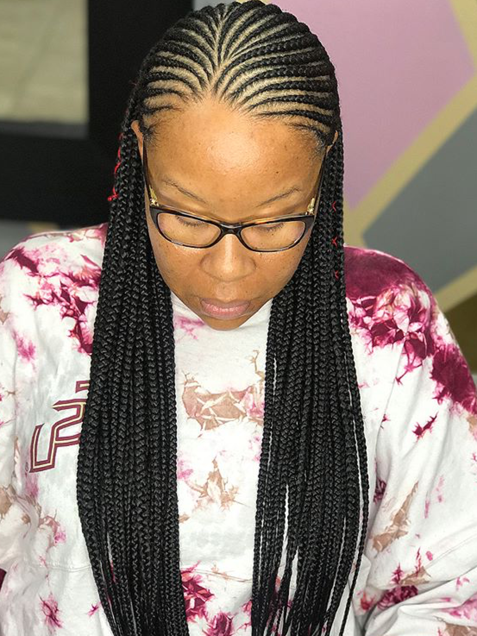 African Braids Pertaining To Famous Straight Backs Braids Hairstyles (View 4 of 20)