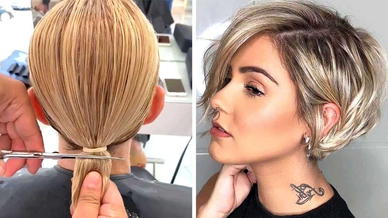 All Hottest Pixie & Short Bob Cut Compilation (View 18 of 20)