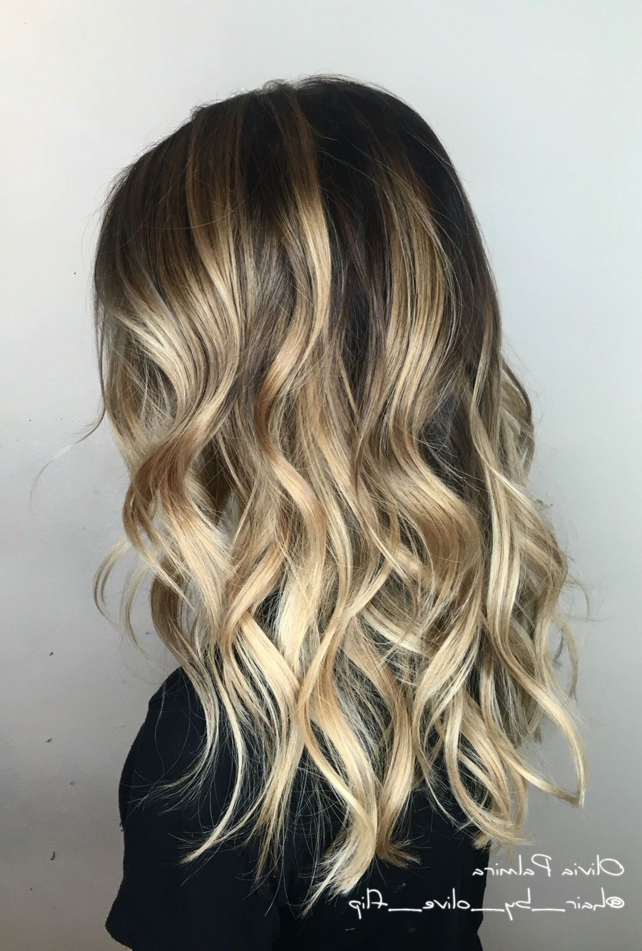 Aveda Wavy Long Hair Blonde Bob Short Hair Beach Wave Medium Intended For Trendy Mid Length Beach Waves Hairstyles (View 6 of 20)