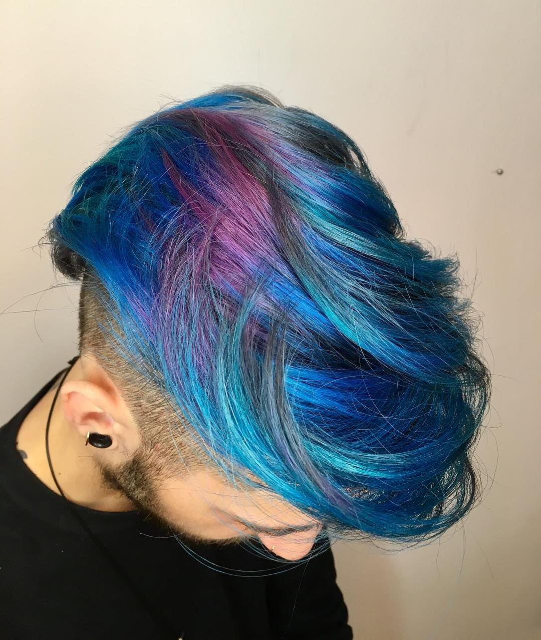 Best And Newest Aqua Green Undercut Hairstyles With Regard To Merman Hair (View 3 of 20)