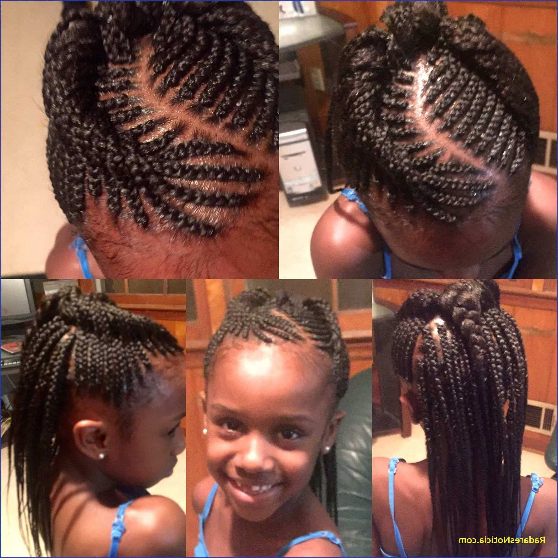 Best And Newest Beaded Braids Hairstyles Inside Hairstyles : Braid Hairstyles Kids Surprising Kids Braids (View 2 of 20)