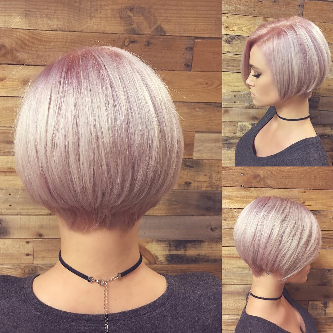 Best And Newest Jaw Length Short Bob Hairstyles For Fine Hair With Regard To 40 Best Short Hairstyles For Fine Hair (View 12 of 20)