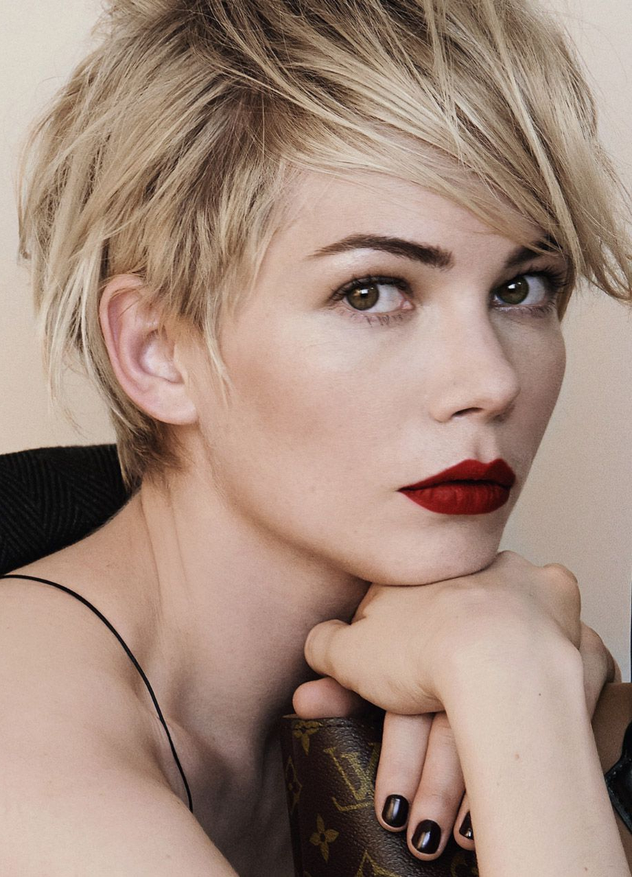 Best And Newest Michelle Williams Pixie Haircuts Pertaining To Pin On My Style (View 5 of 20)