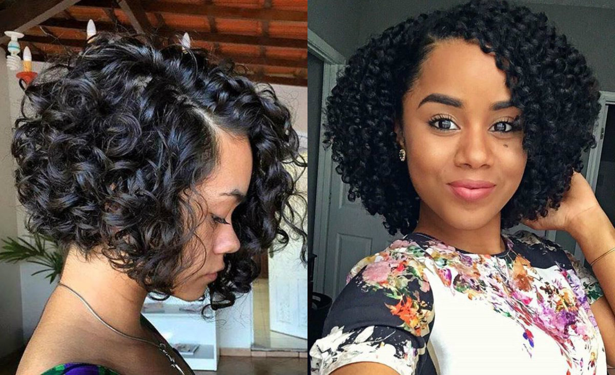 Best And Newest Naturally Curly Bob Hairstyles With Regard To Curly Bob Hairstyles Black Hair (View 6 of 20)