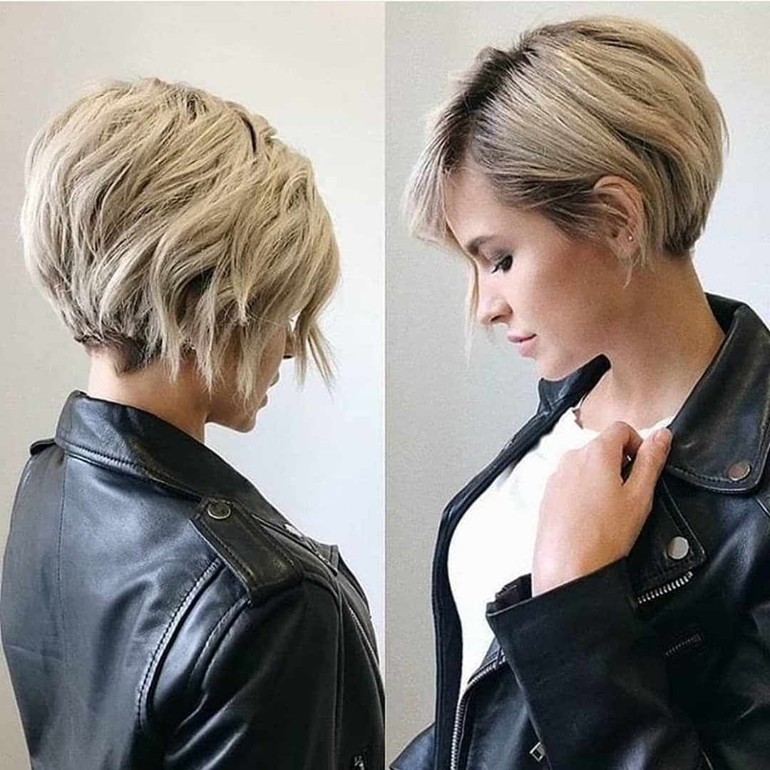 Best Pixie And Bob Short Haircuts For Women 2019 2020 – Best For Popular Part Pixie Part Bob Hairstyles (View 11 of 20)