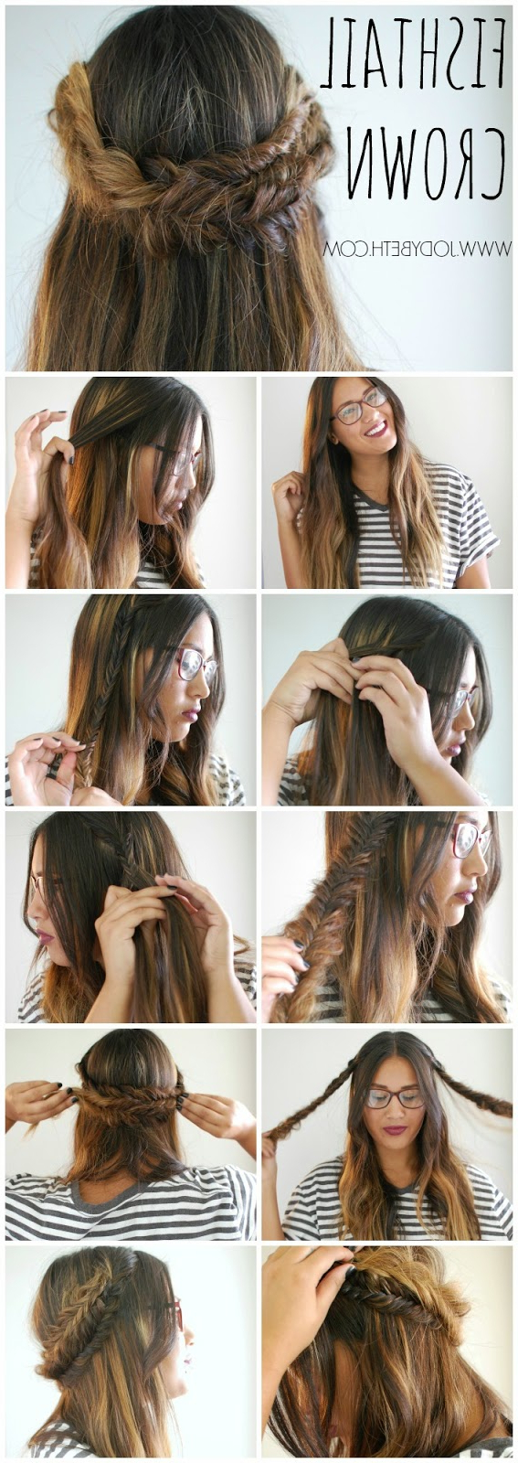 Bloglovin' Pertaining To Best And Newest Fishtail Crown Braid Hairstyles (View 4 of 20)