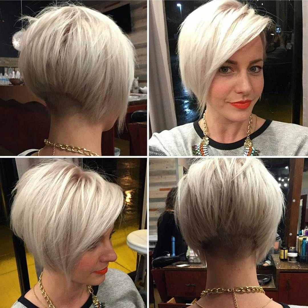Bob Haircut Regarding Current Blonde Undercut Bob Hairstyles (View 12 of 20)