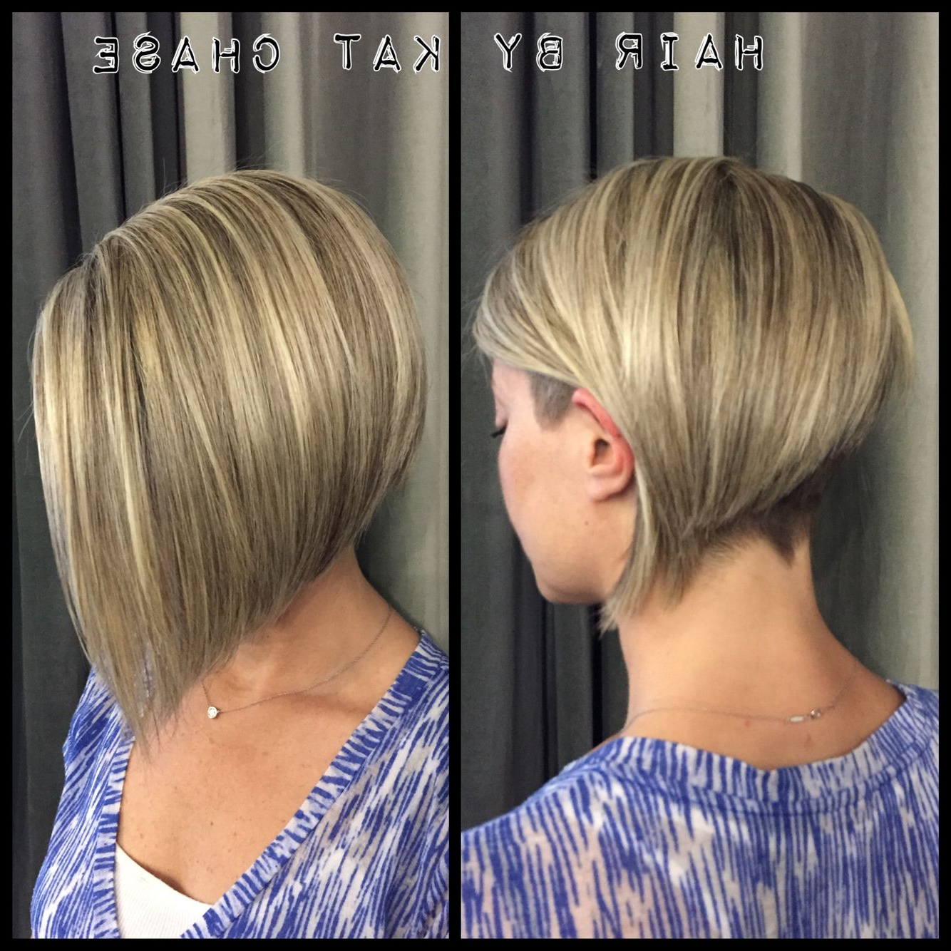 Bob Hairstyles In Widely Used Blonde Undercut Bob Hairstyles (View 1 of 20)