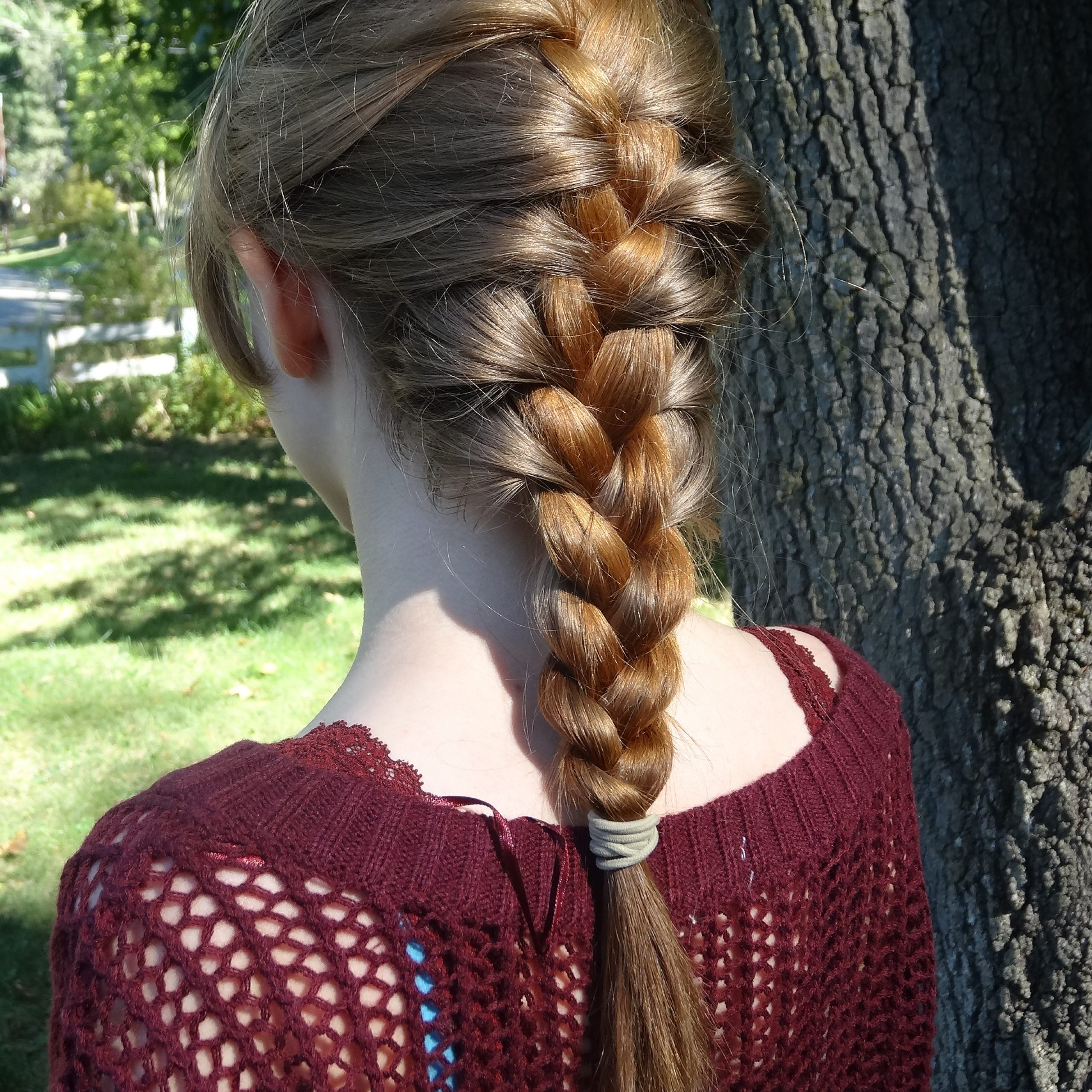Braid (Hairstyle) – Wikiwand Throughout Recent Three Strand Pigtails Braid Hairstyles (View 19 of 20)