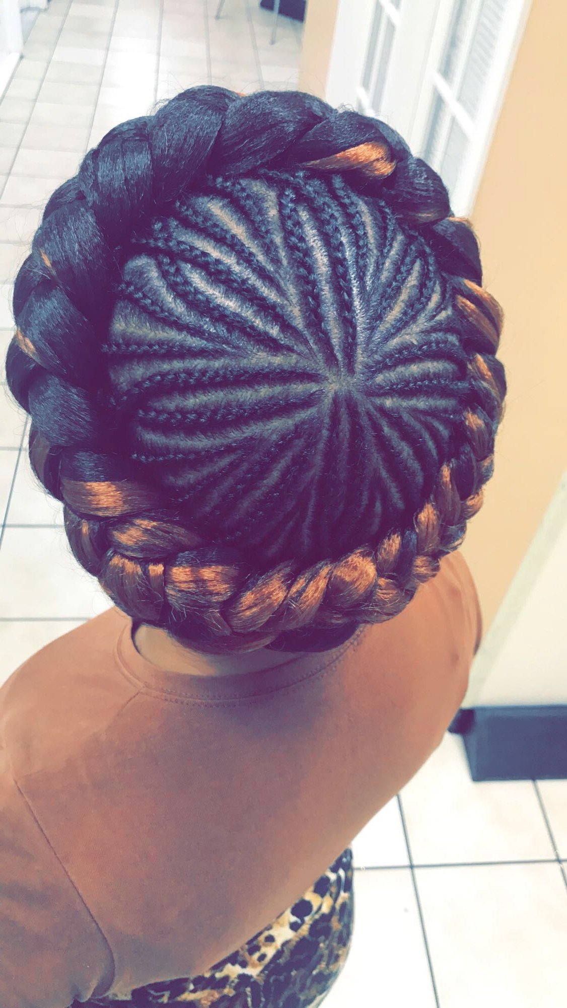 Featured Photo of Crown Cornrow Hairstyles