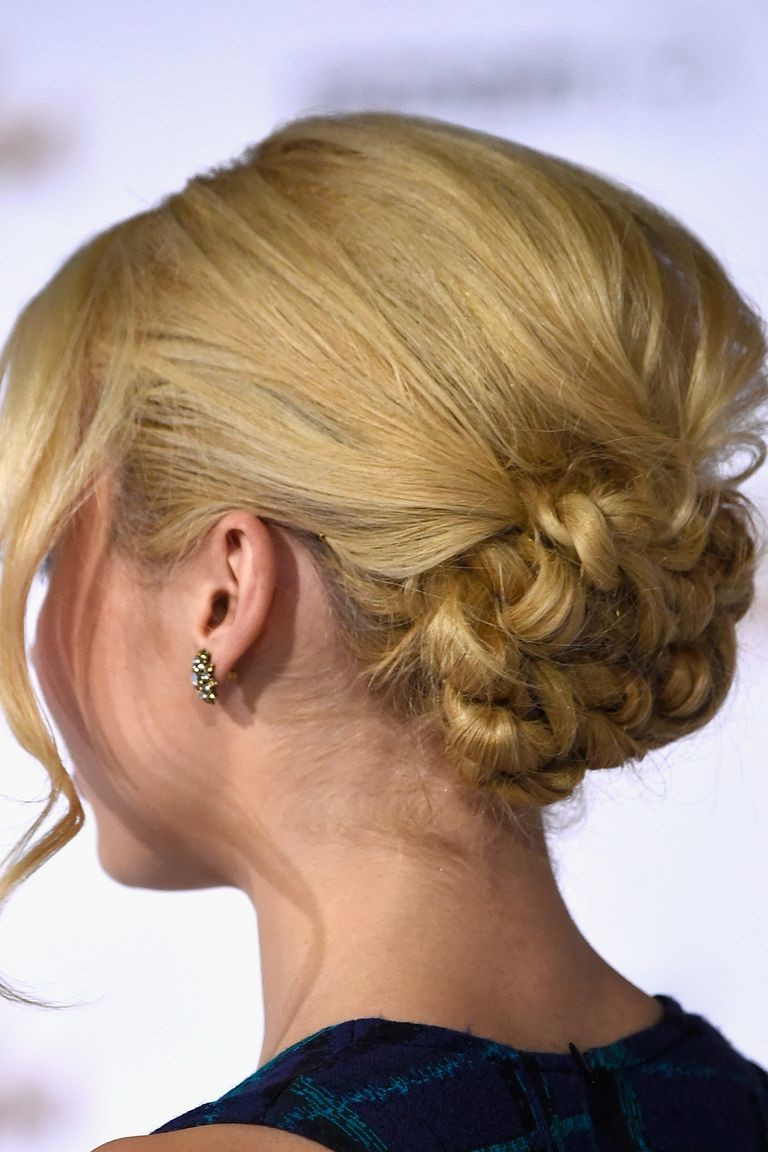 Braided Hairstyles, The Most Gorgeous Look Of All Time With Preferred Loosely Tied Braid Hairstyles With A Ribbon (View 14 of 20)