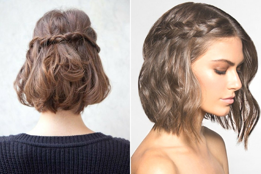 Braided Short Hair Inside 2019 Braided Short Hairstyles (View 8 of 20)