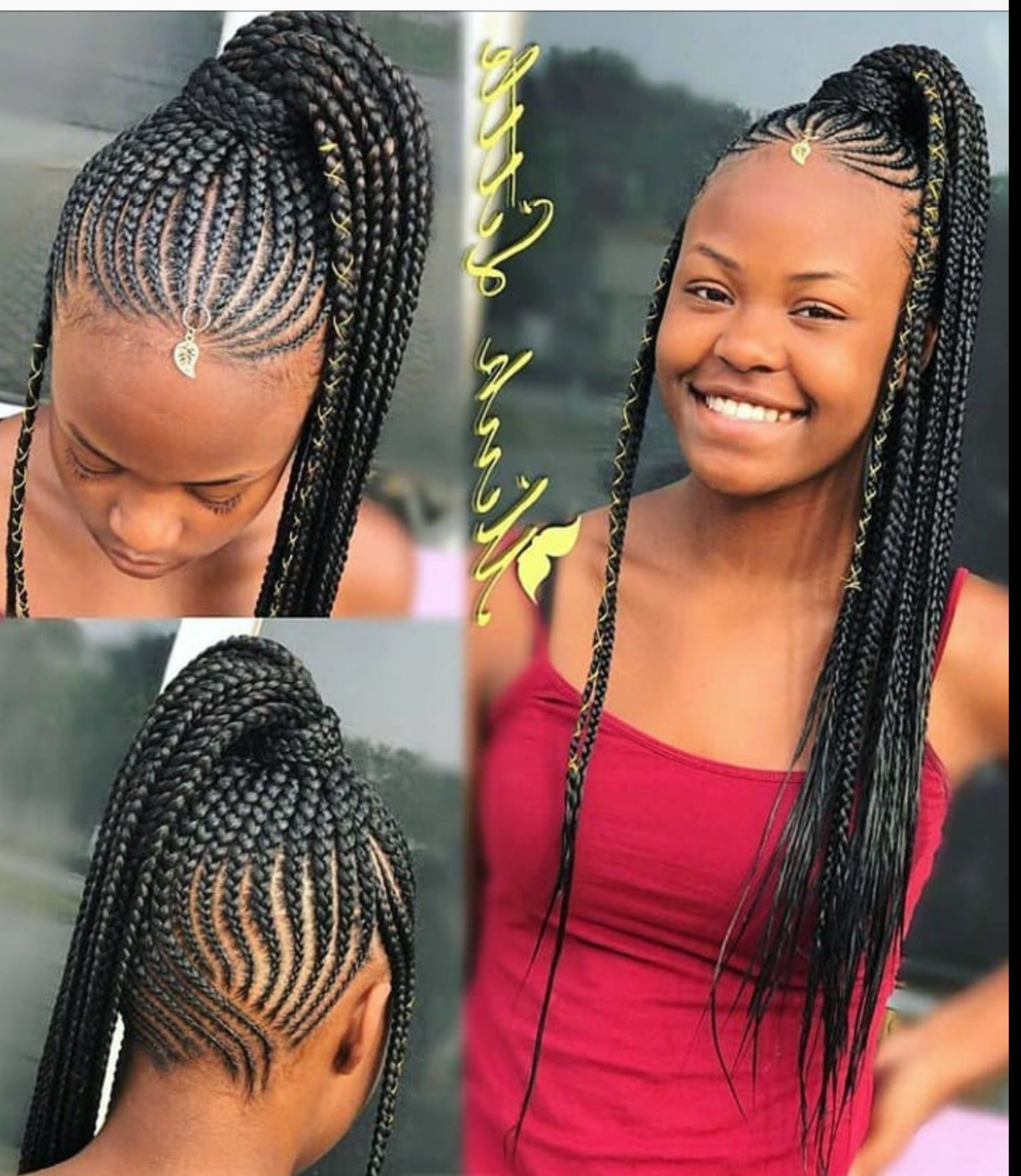 Braided Throughout Recent Ponytail Braid Hairstyles (View 7 of 20)
