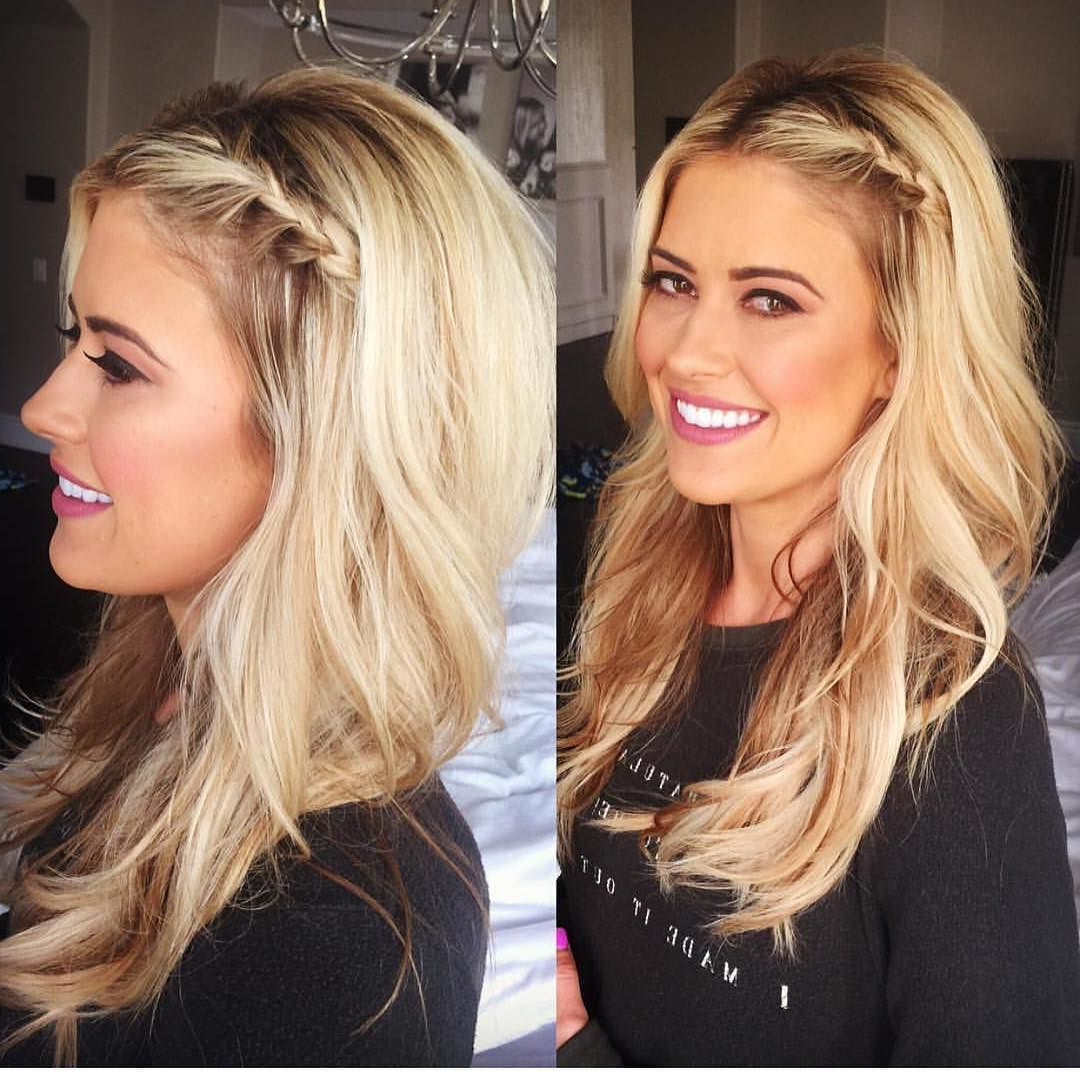 Bringing The Braid Back Today @shanrbeauty Intended For Popular Crisp Pulled Back Braid Hairstyles (View 11 of 20)